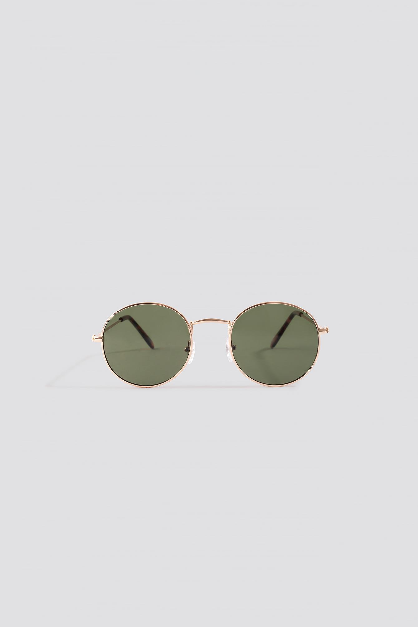 Round Metal Frame Sunglasses NA-KD.COM