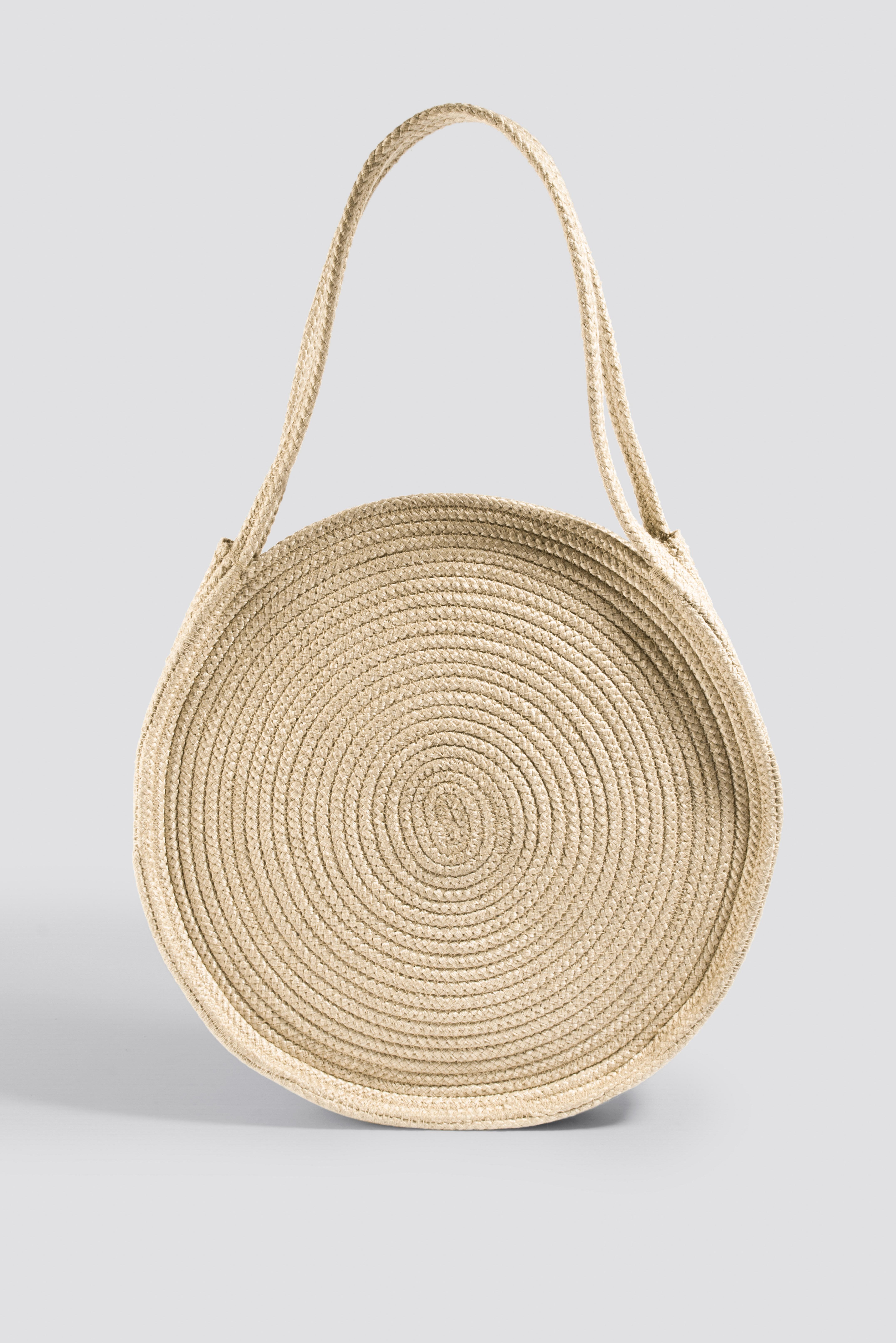 Okrągła torebka ze sznurka NA-KD.COM