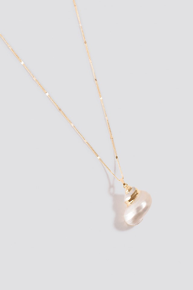 Round Shell Necklace Shell