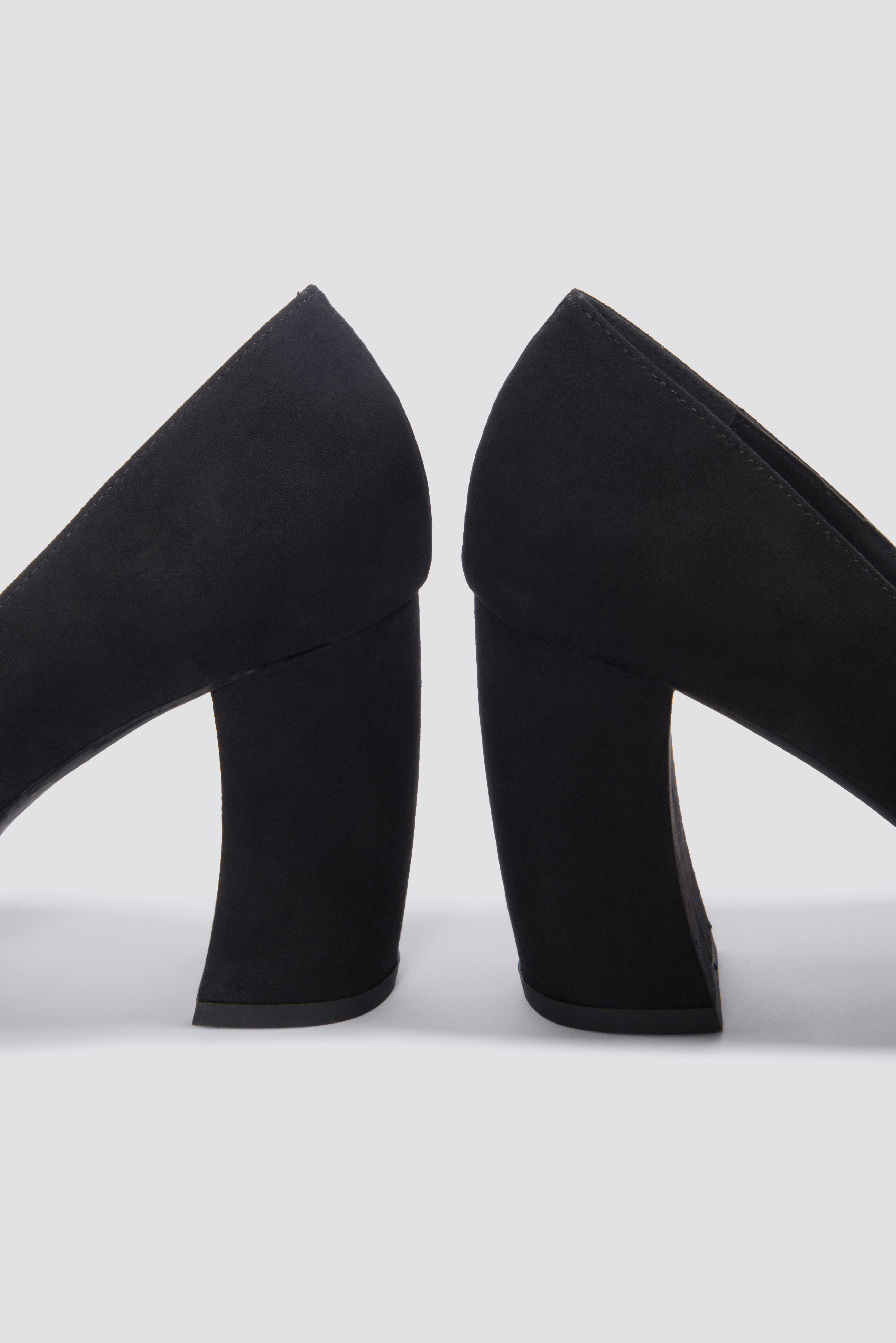 Rounded Heel Pumps NA-KD.COM