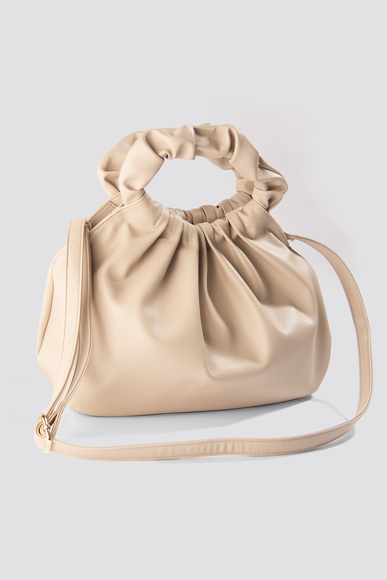 Ruffled Handle Handbag NA-KD.COM