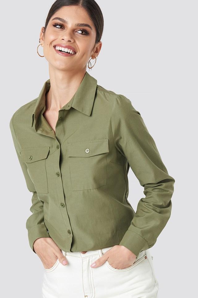 Safari Shirt NA-KD Trend