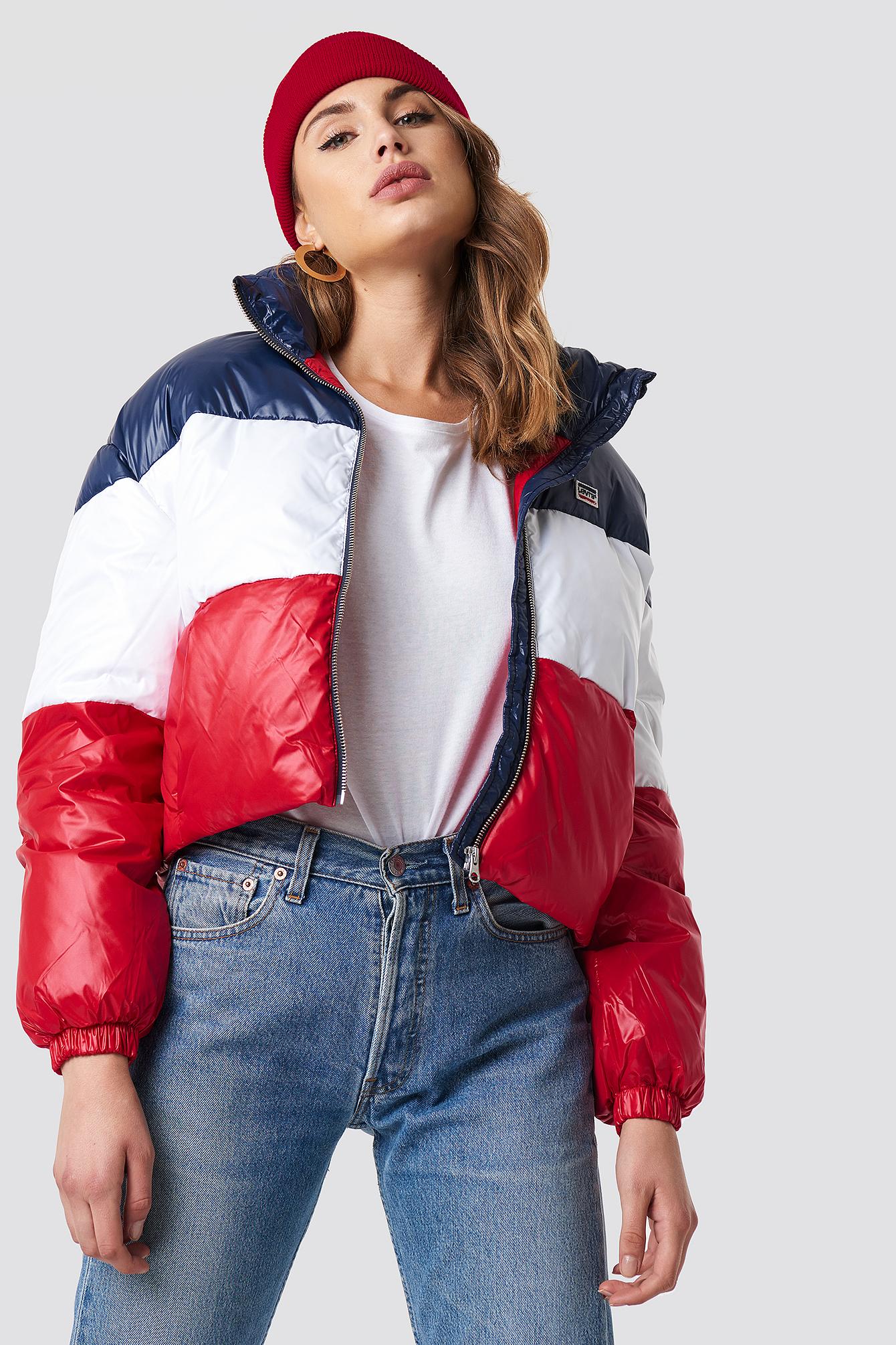 levi's -  Short Puffer Coat - Multicolor