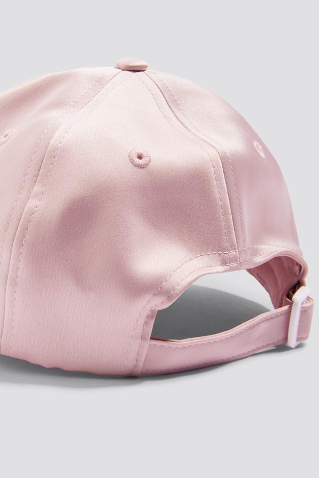 Satin Cap Light Pink