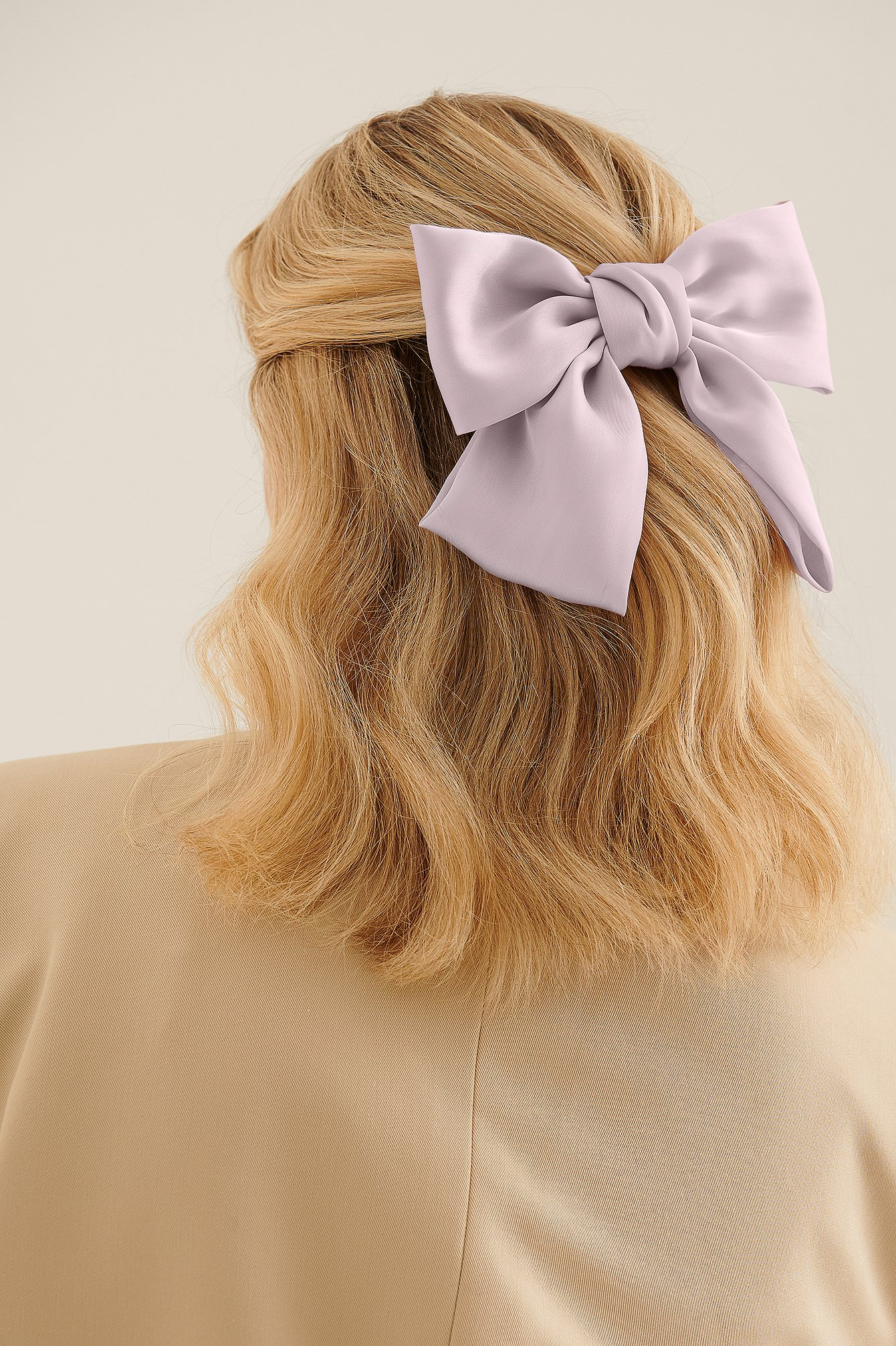 na-kd accessories -  Haarreif Aus Satin - Purple