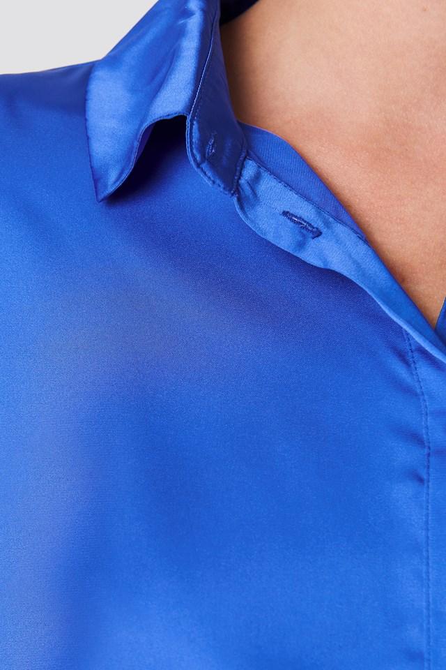 Satynowa koszula NA-KD.COM