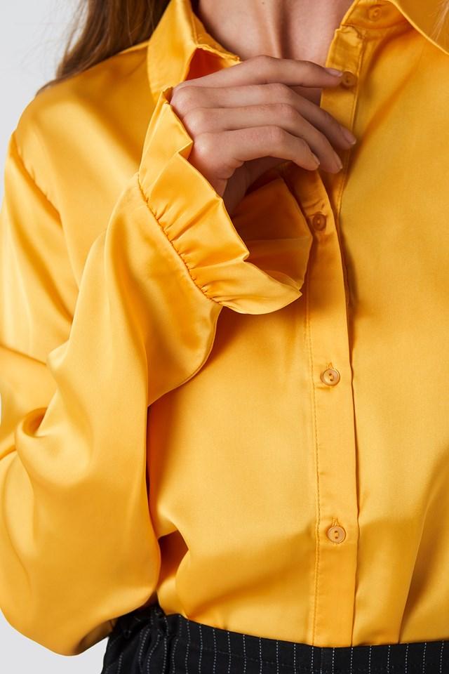 Satin Shirt Citrus