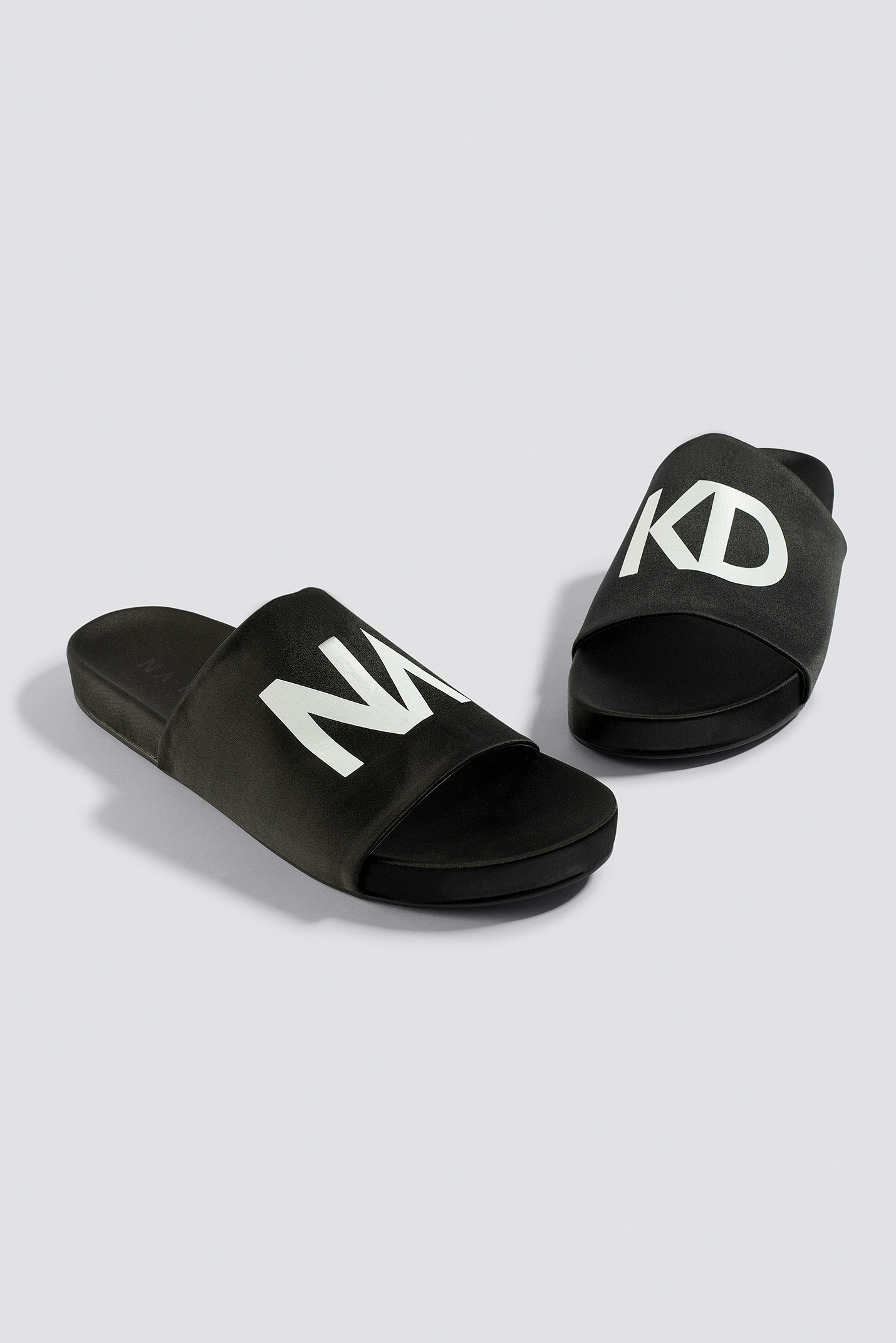 NA-KD Satin Slippers NA-KD.COM