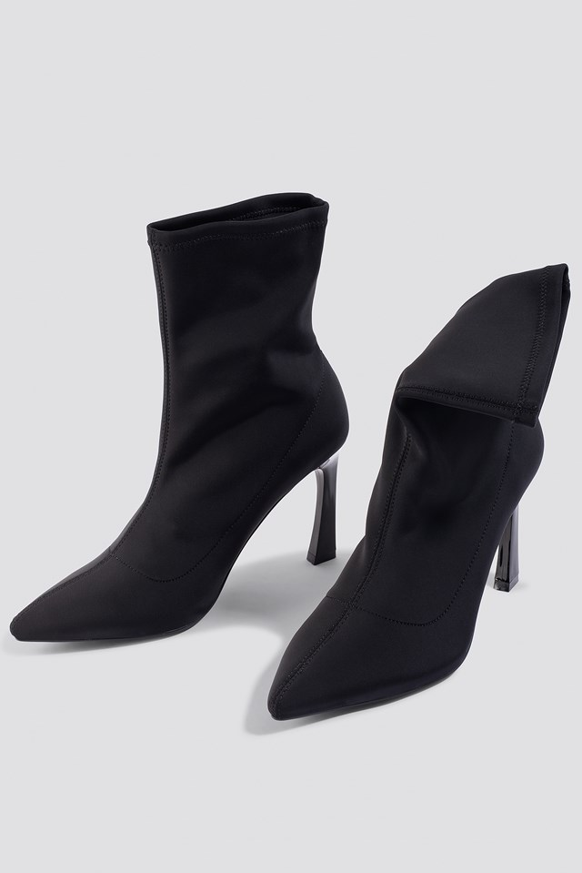 Scuba Sock Boots NA-KD.COM