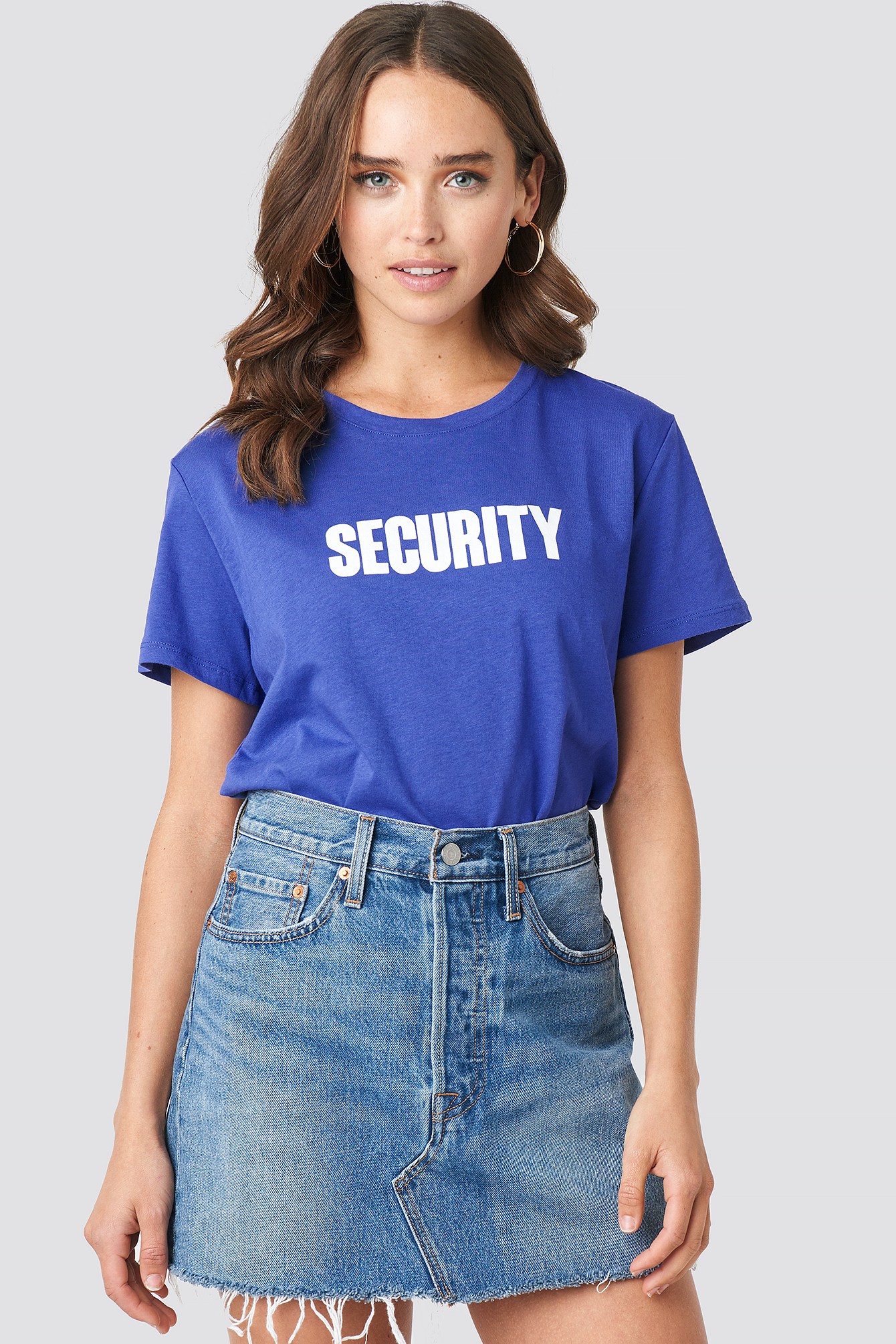 Security Oversized tee NA-KD.COM