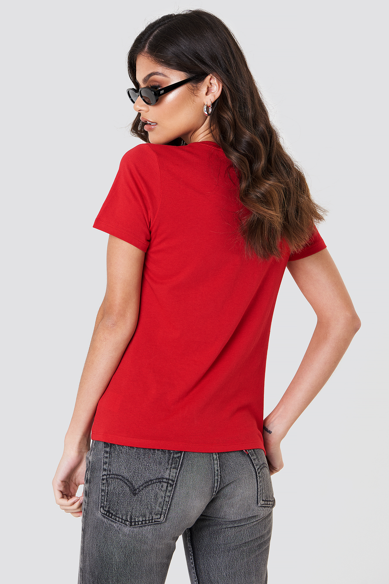 Red Self Ish tee