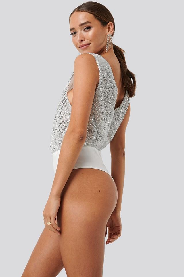 Sequin Body Silver