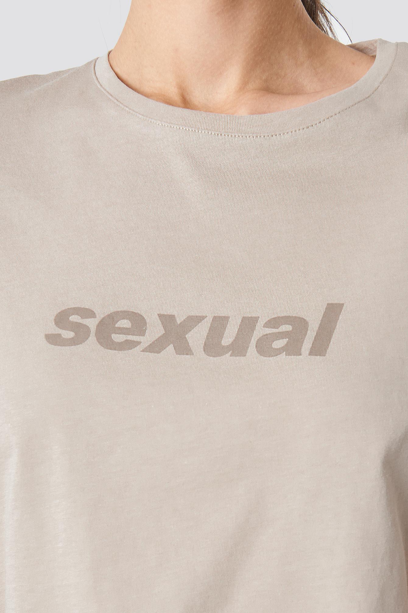 Sexual Tee NA-KD.COM