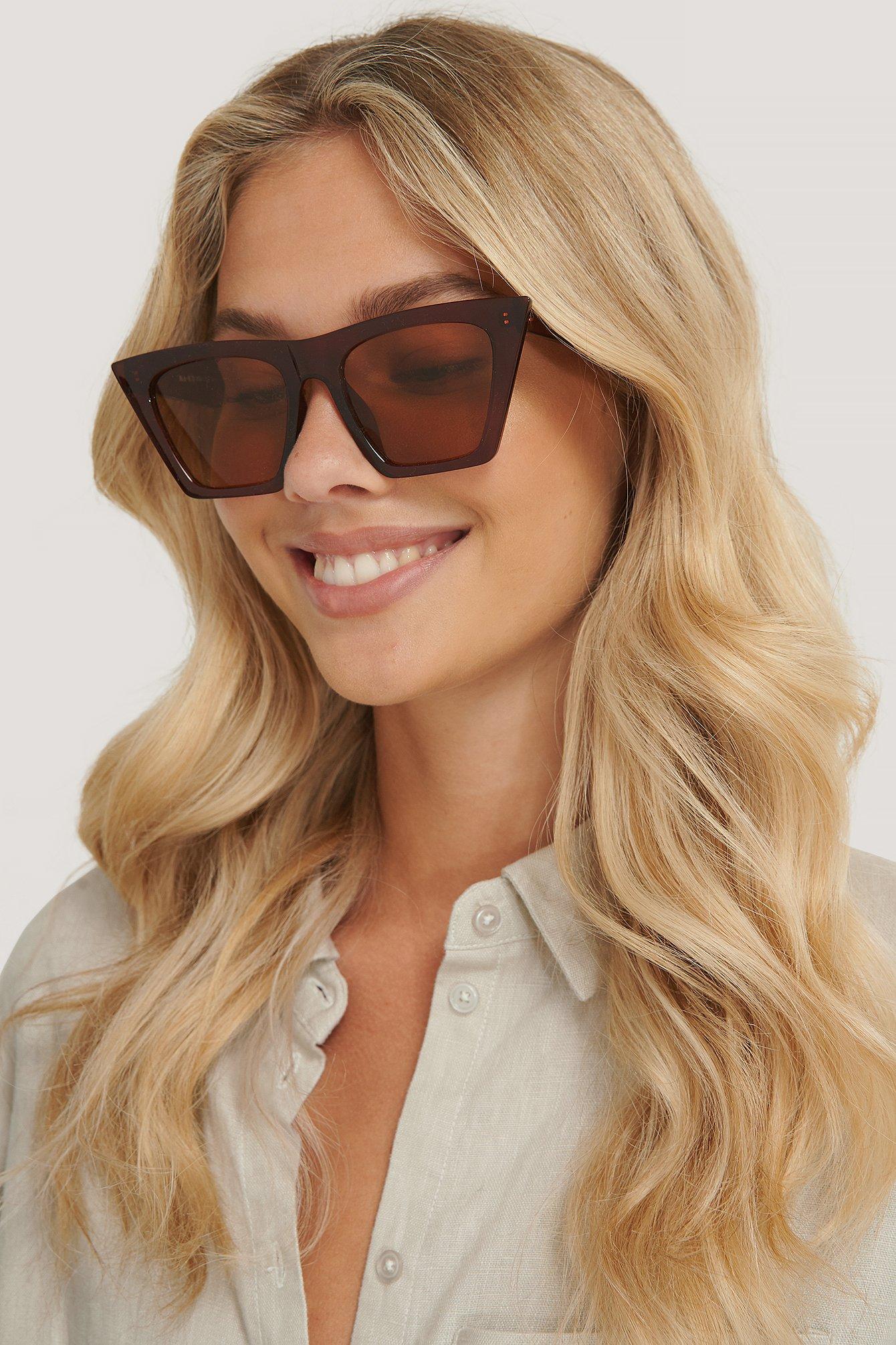 na-kd accessories -  Sonnenbrille - Brown