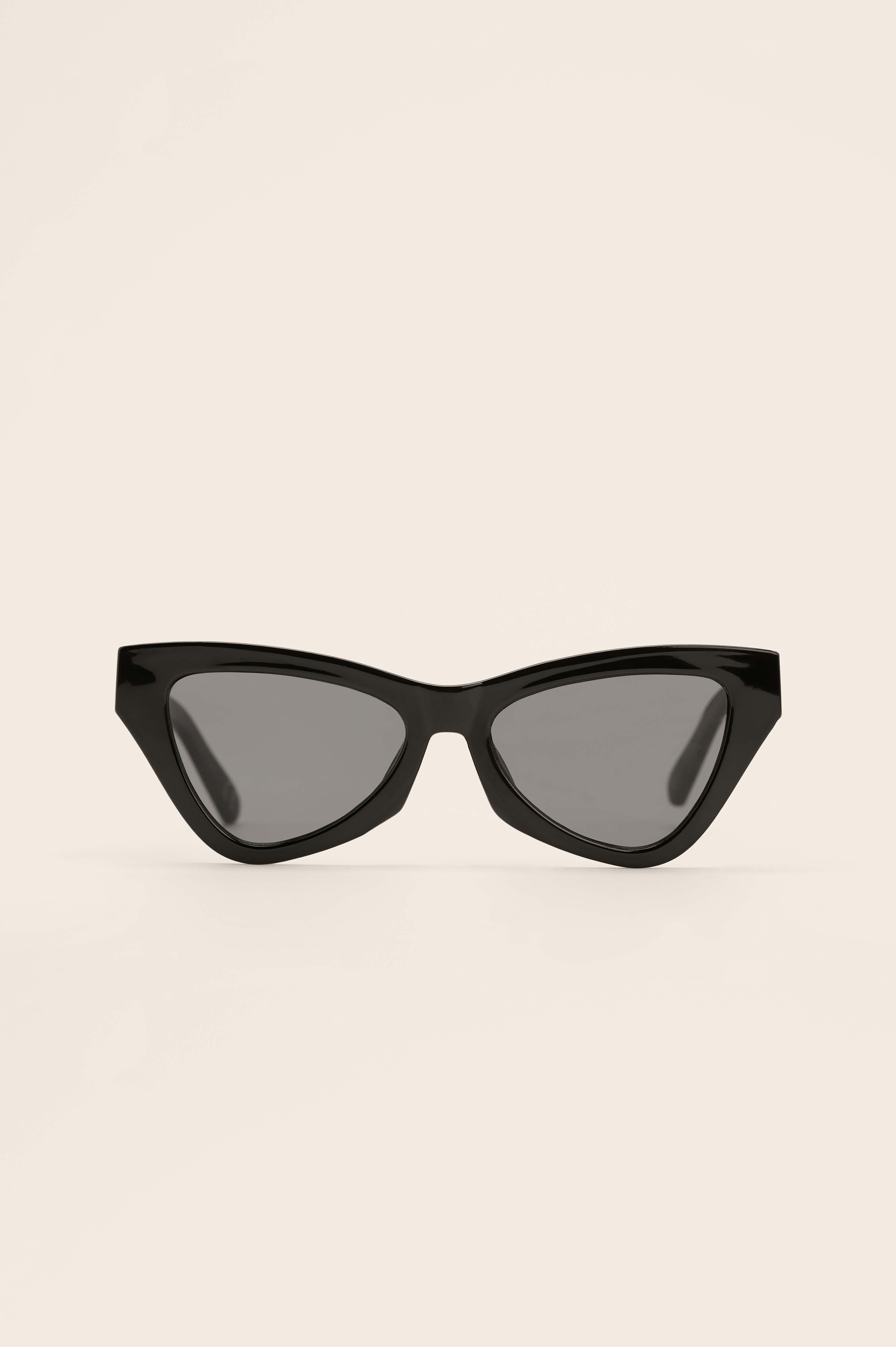 na-kd accessories -  Cateye-Sonnenbrille - Black