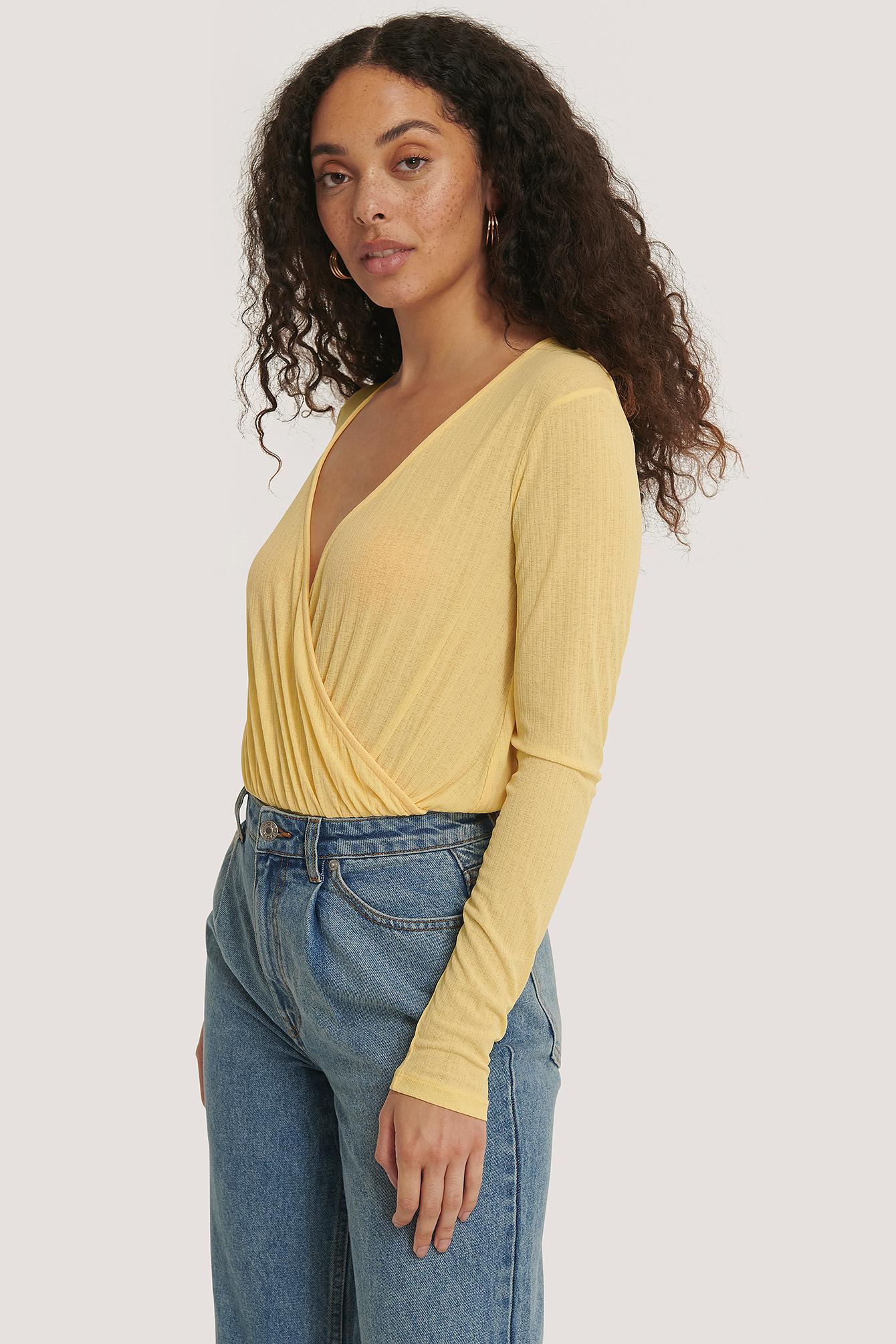 na-kd -  Overlap-Body - Yellow