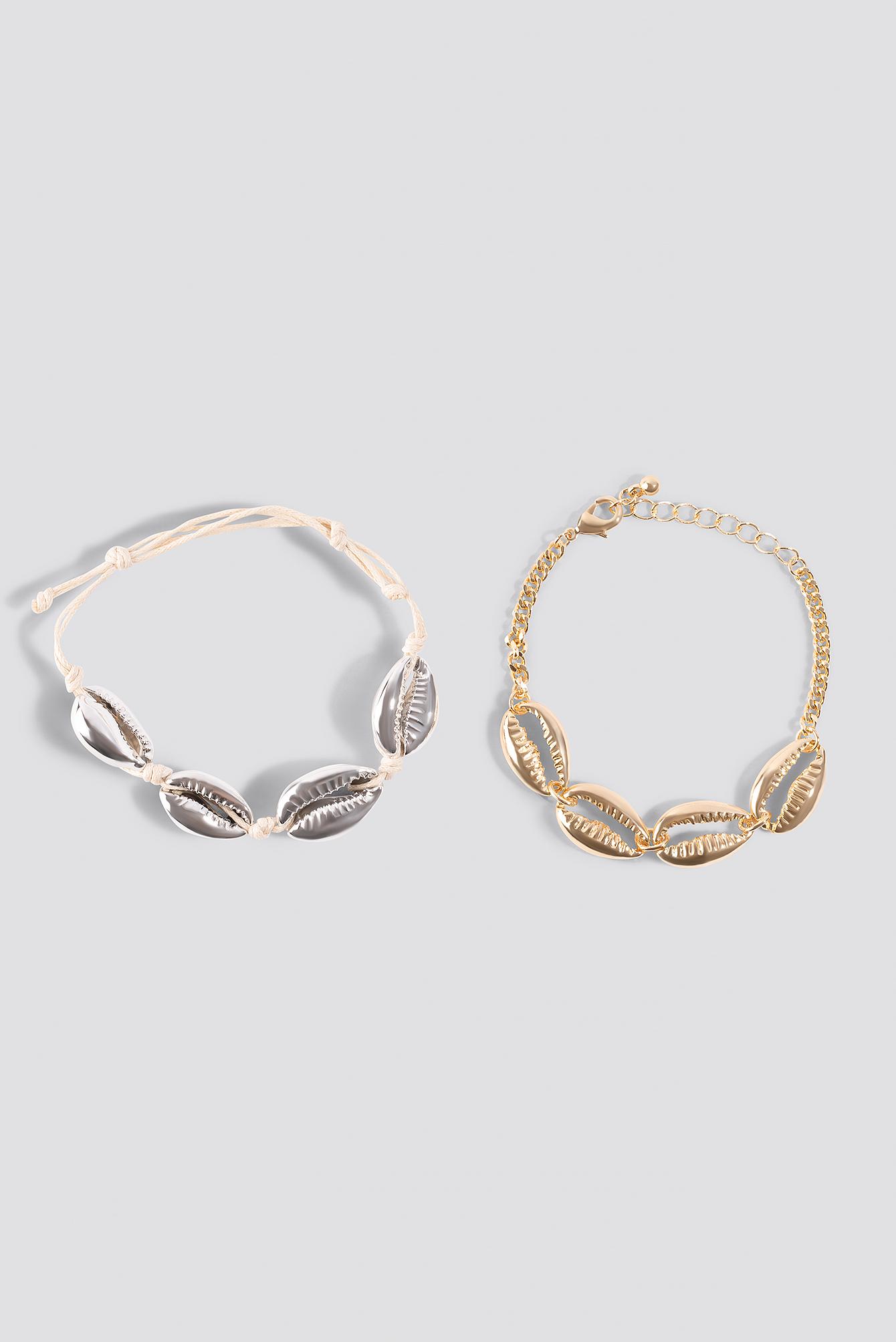 Shell Bracelets (2-pack) NA-KD.COM