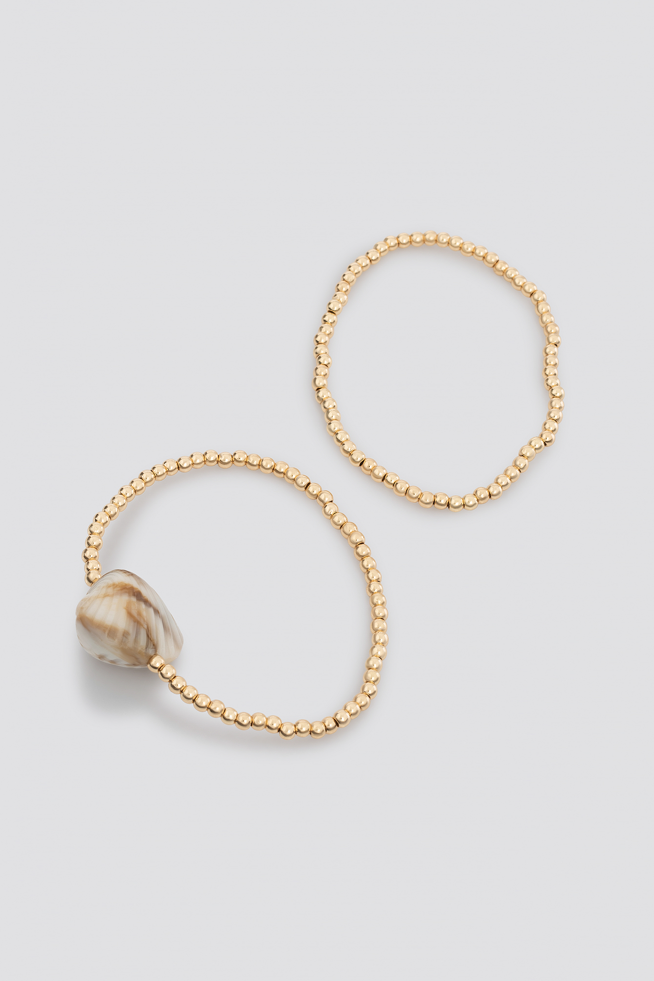 Shell Detailed Double Bracelets NA-KD.COM