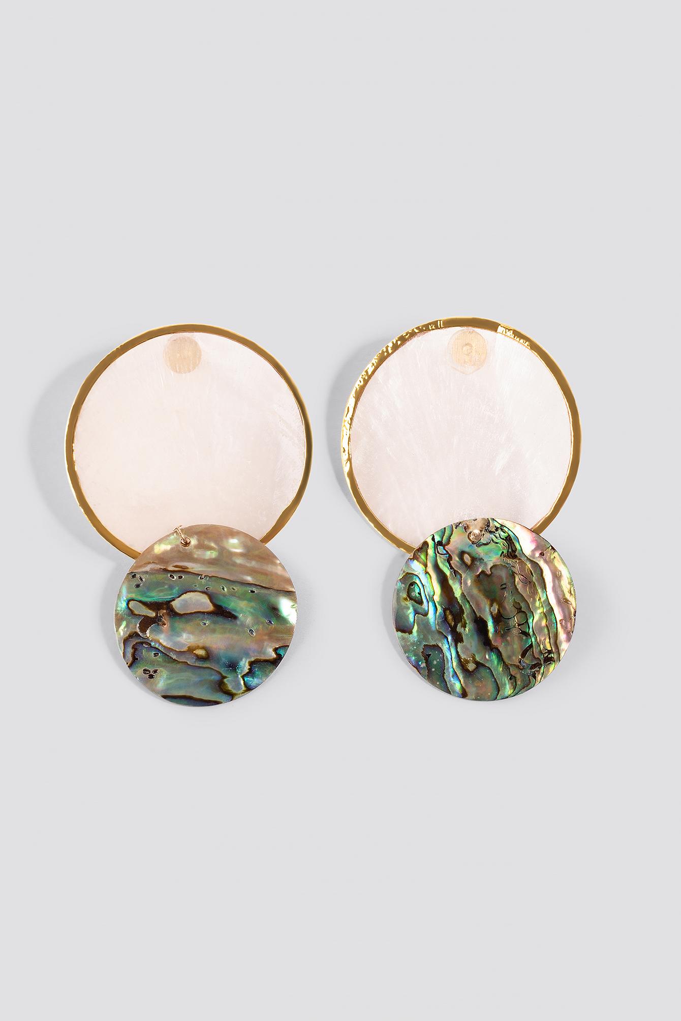 Shell Plate Earrings NA-KD.COM