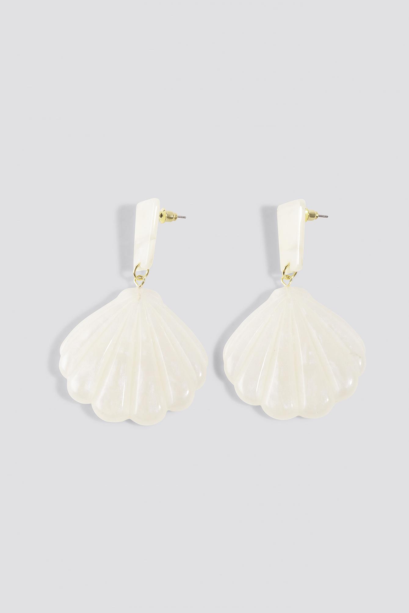 Shell Shape Drop Earrings NA-KD.COM