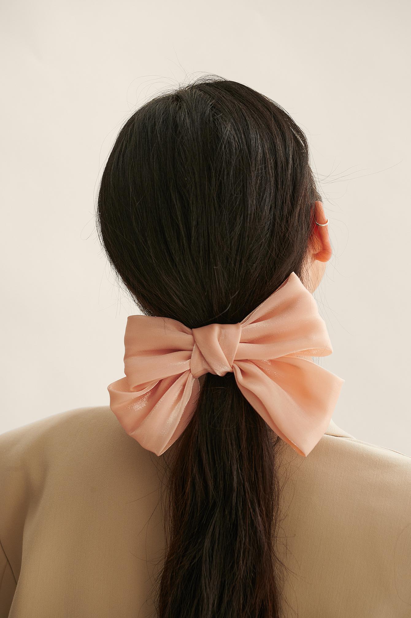 na-kd accessories -  Glänzender Haarreif - Pink