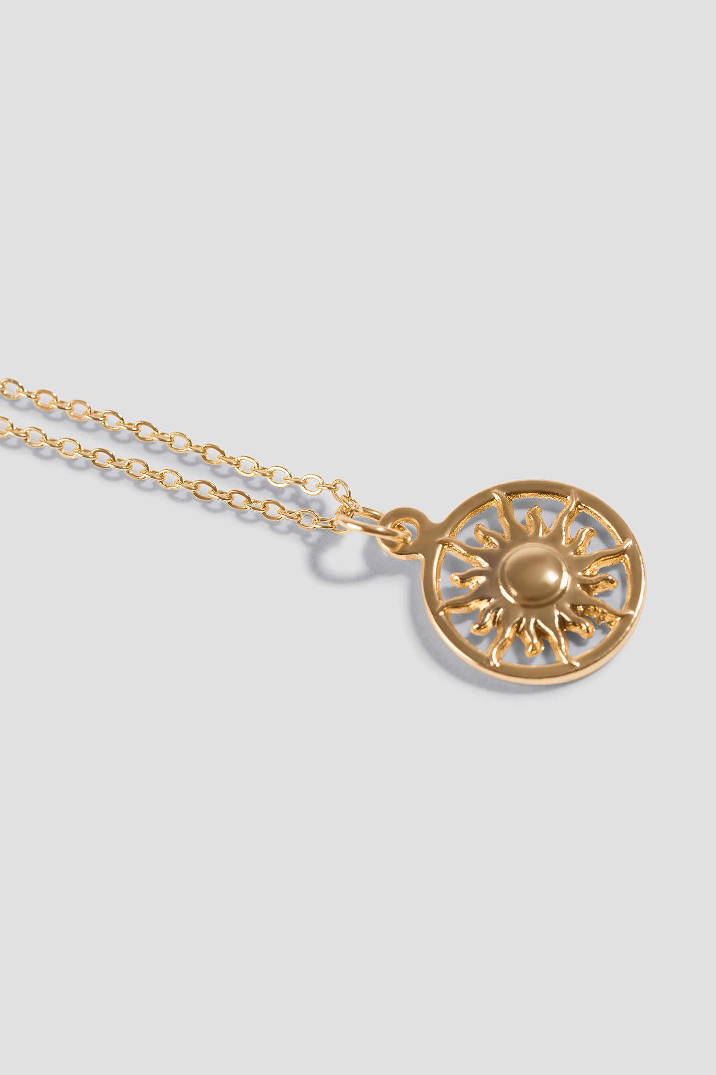 Shining Sun Necklace  NA-KD.COM