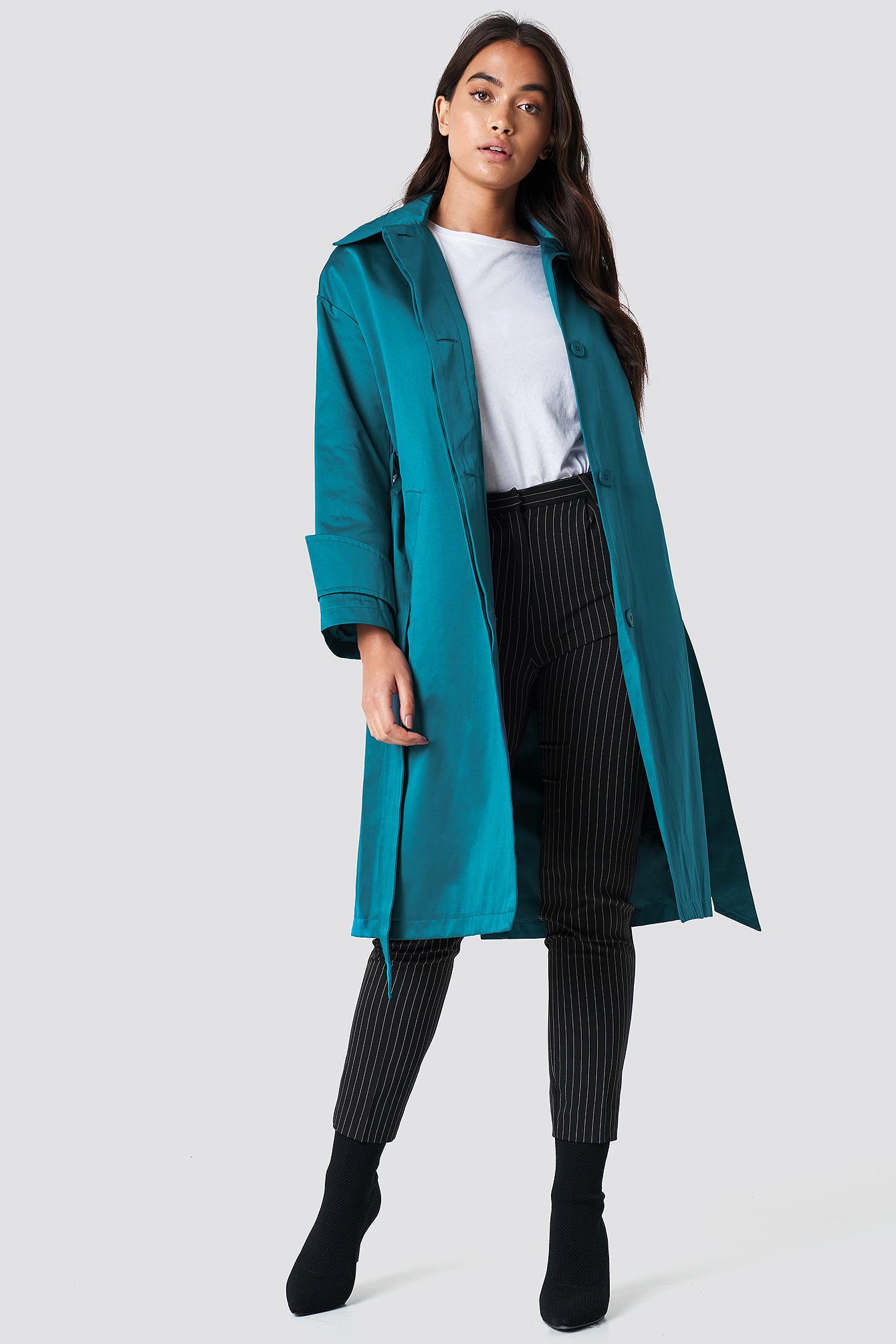 Shiny Coat NA-KD.COM