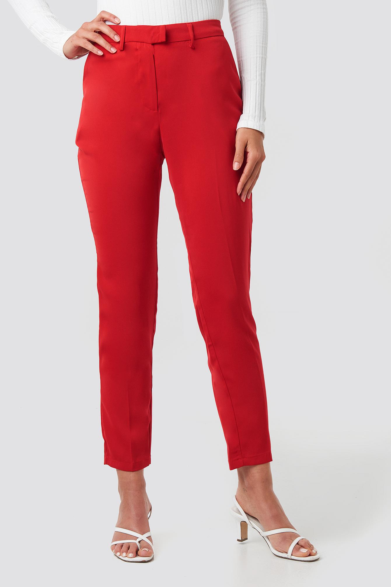 Shiny Suit Pants NA-KD.COM
