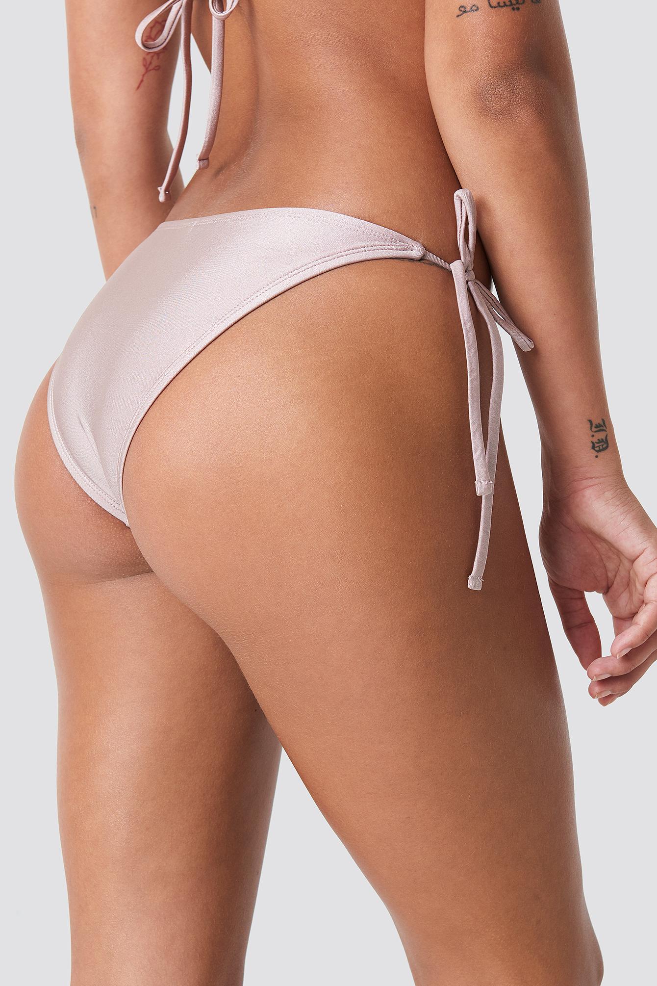Shiny panty ass