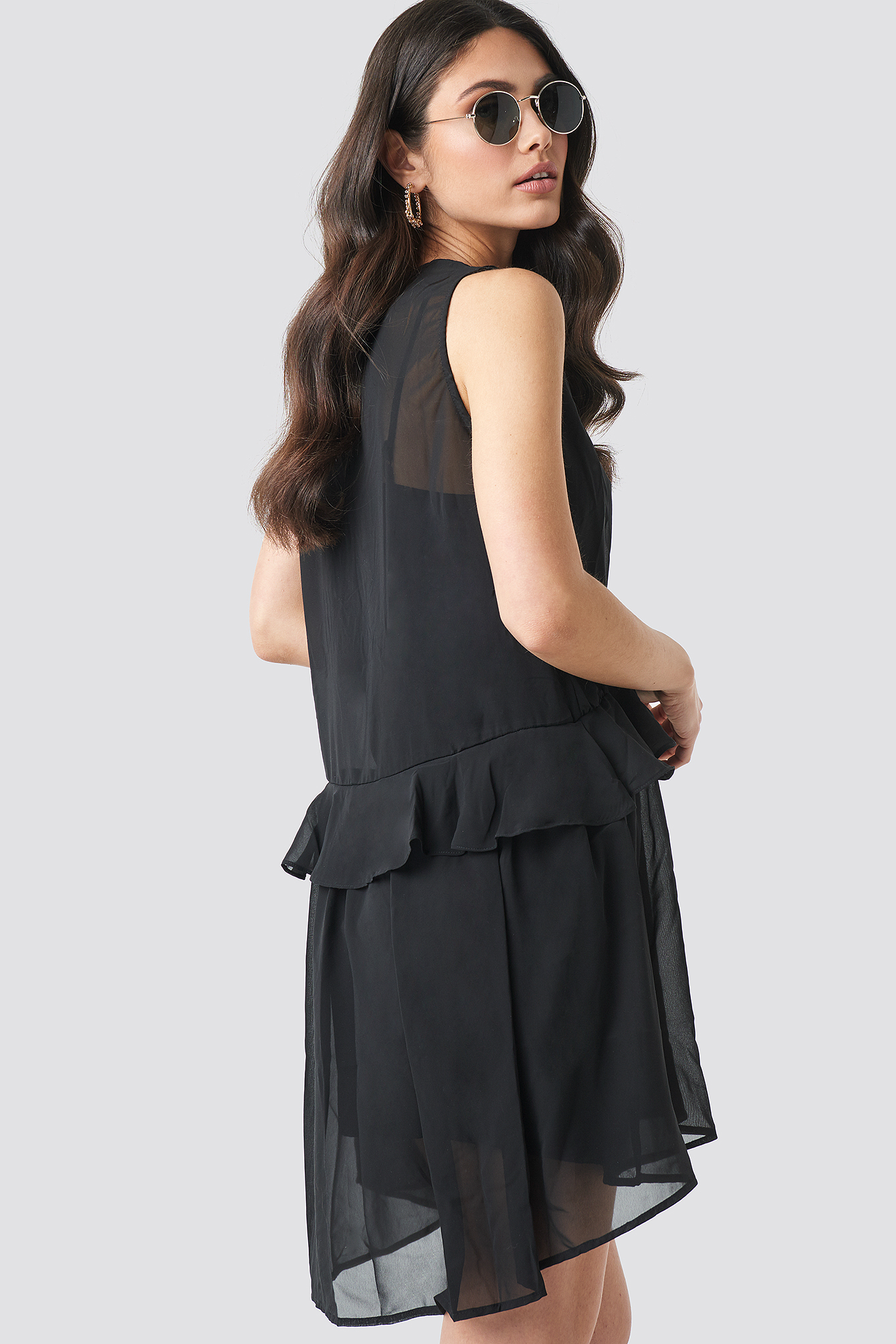 Short Chiffon Dress NA-KD.COM