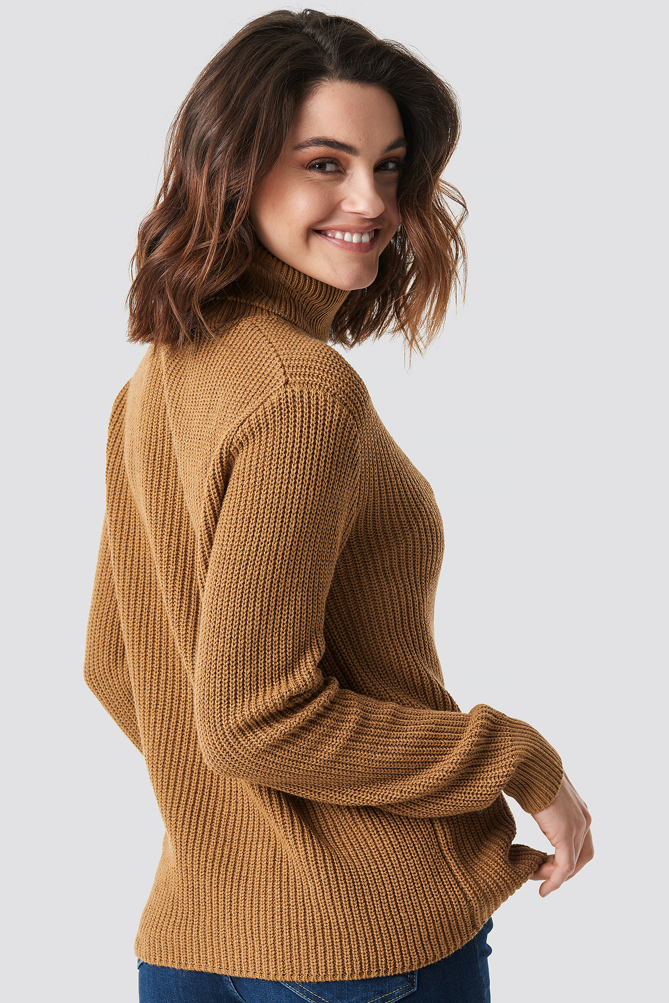 Side Buttoned Knitted Sweater NA-KD.COM