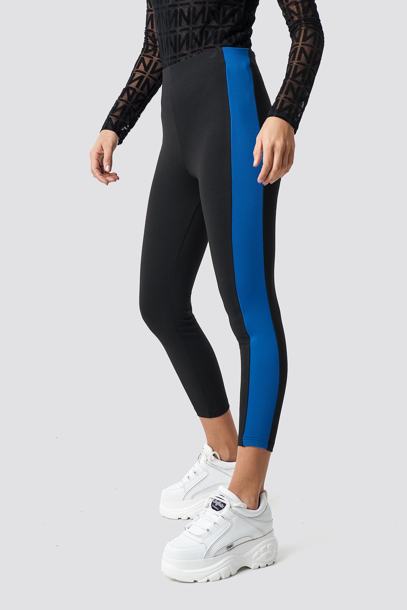 Side Detail Leggings NA-KD.COM