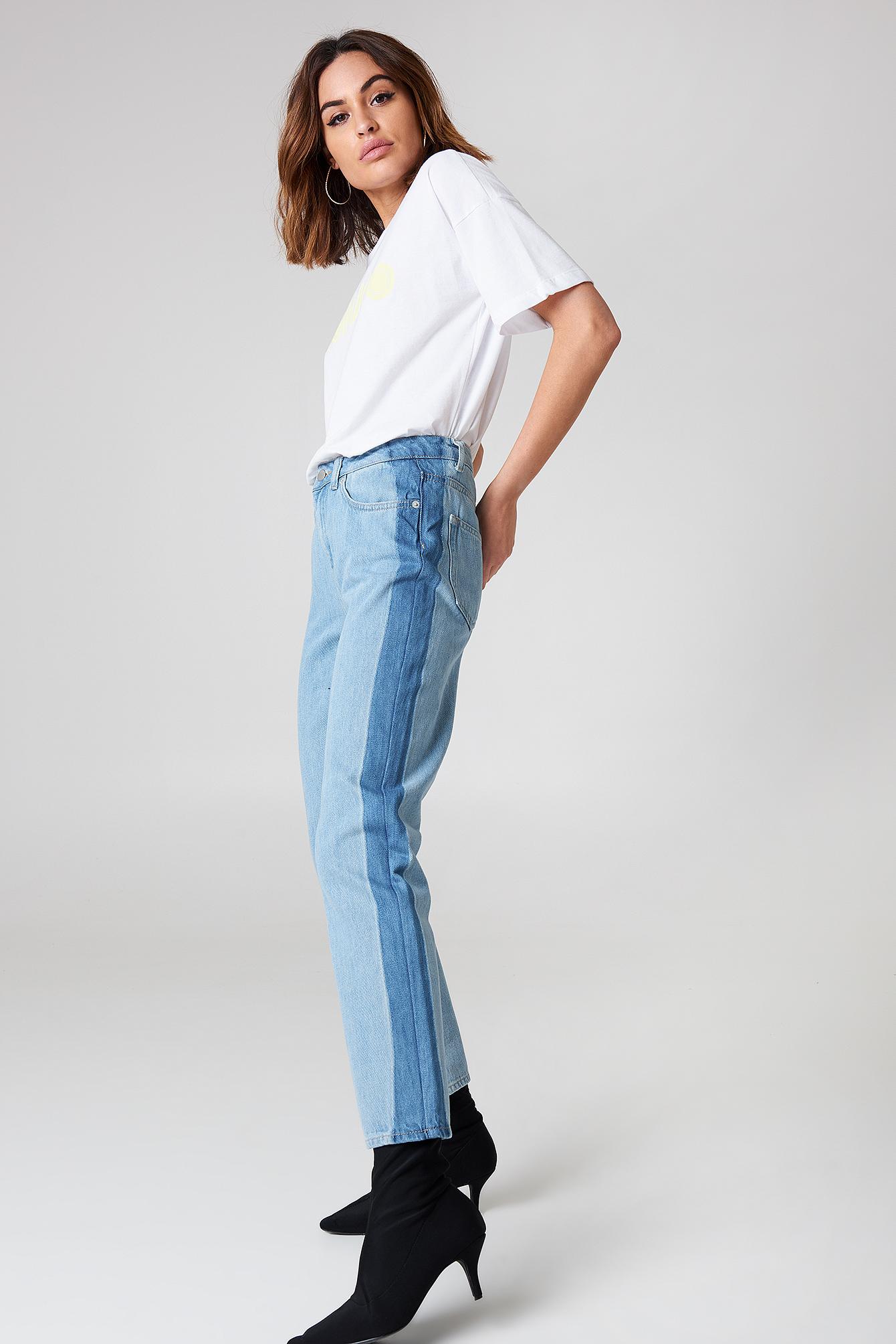 Side Panel Jeans NA-KD.COM