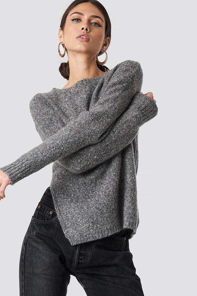 Side Slit Knitwear NA-KD
