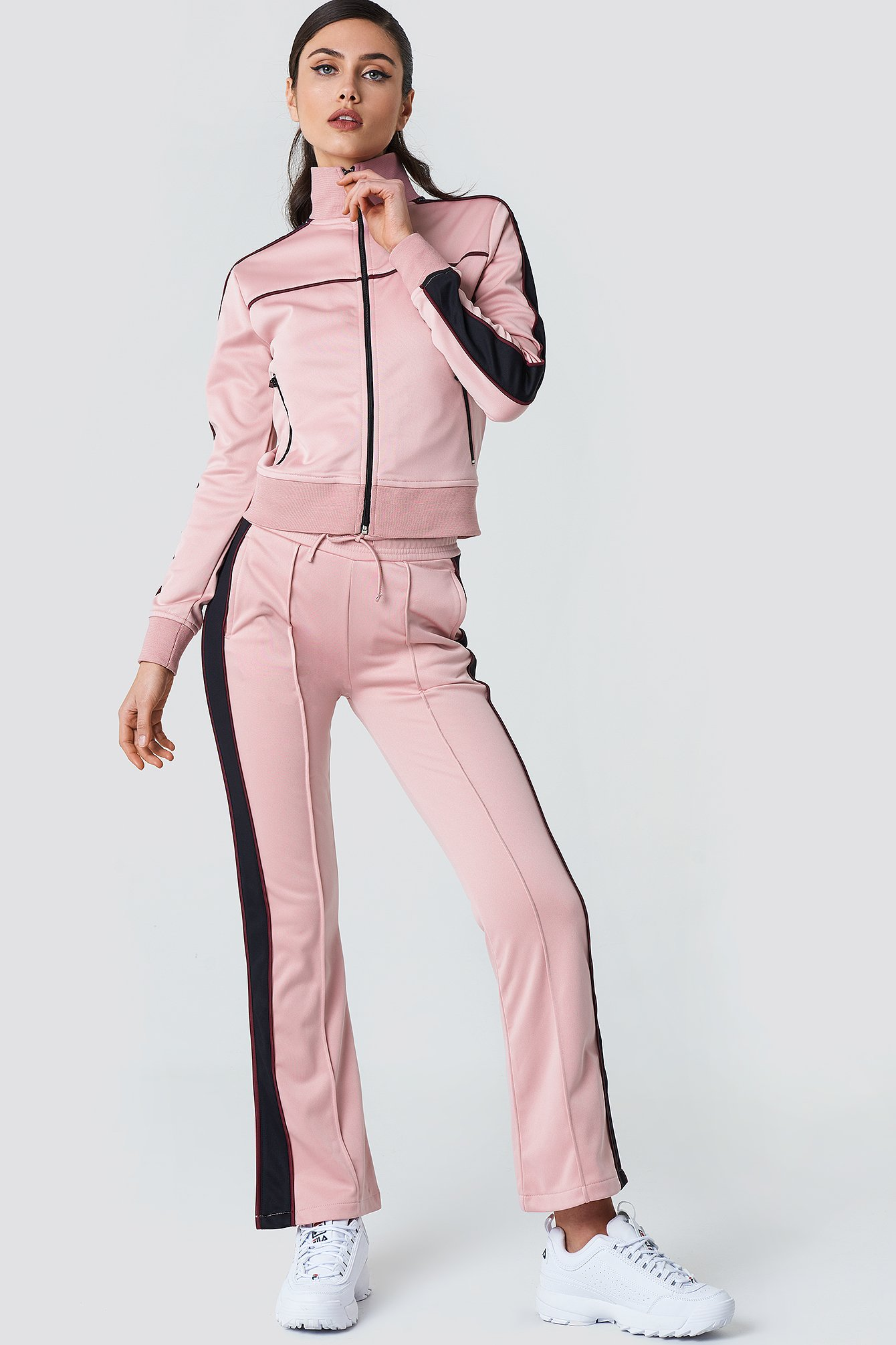 Side Slit Track Pants NA-KD.COM