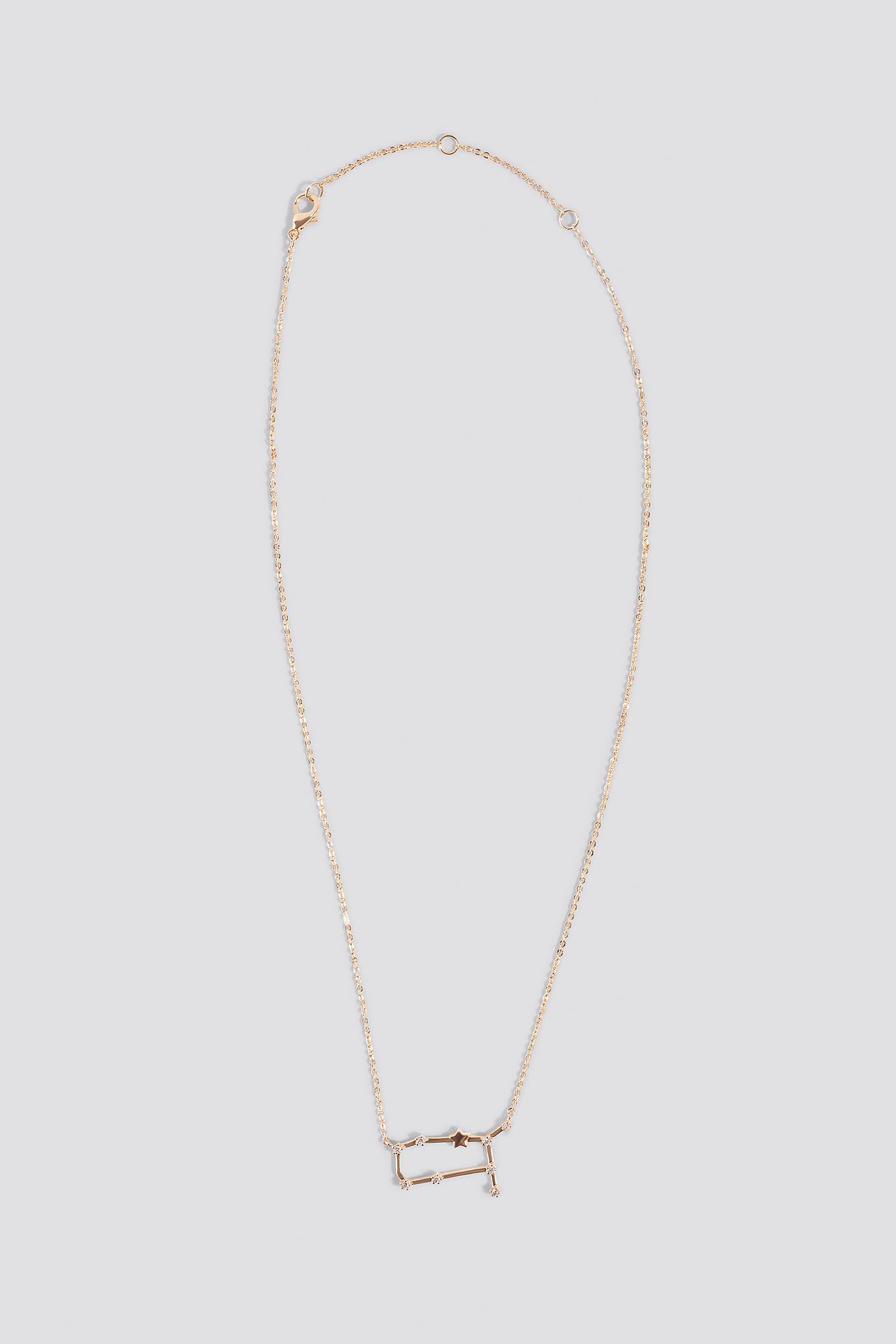 Star Sign Gemini Necklace NA-KD.COM