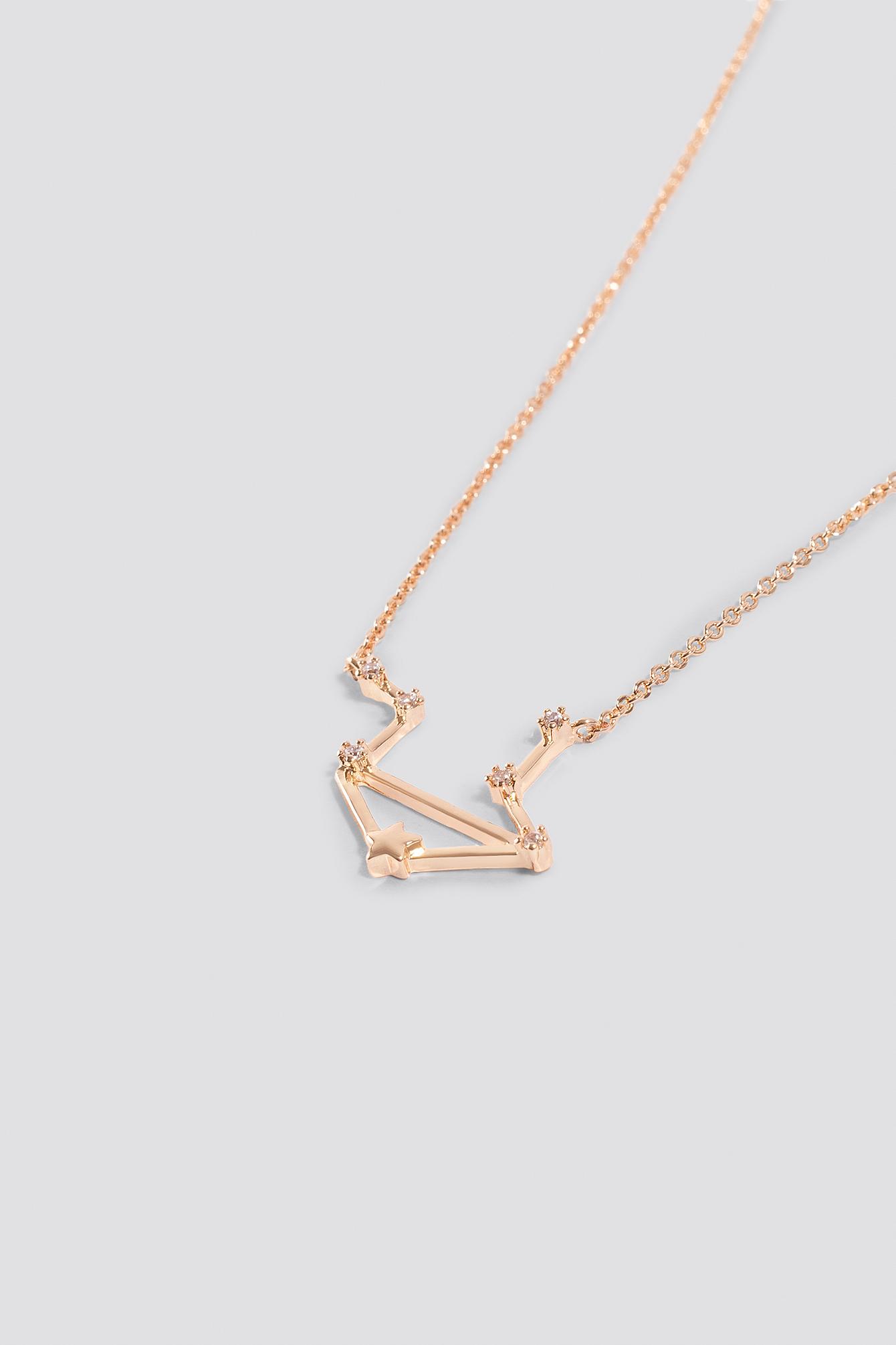 Star Sign Libra Necklace NA-KD.COM