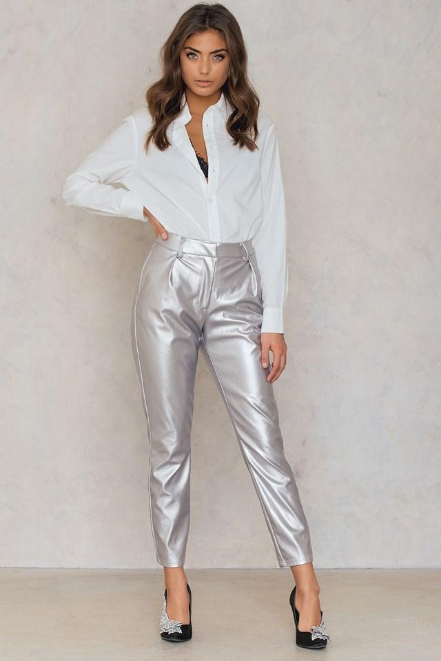 Silver Pants Silver