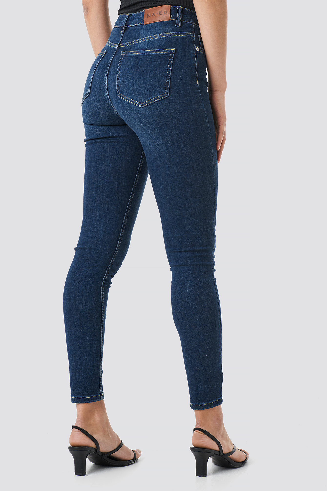 Skinny High Waist Jeans NA-KD.COM