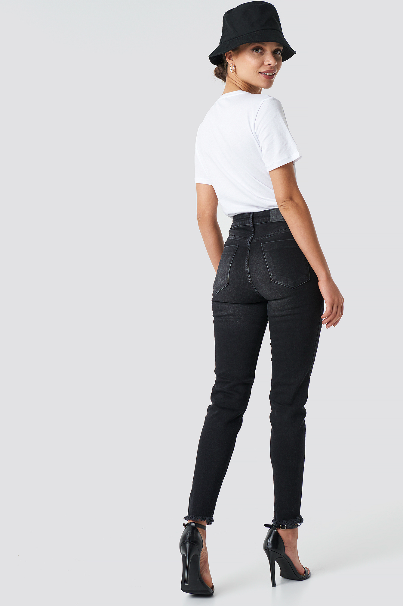 Skinny Twisted Jeans NA-KD.COM