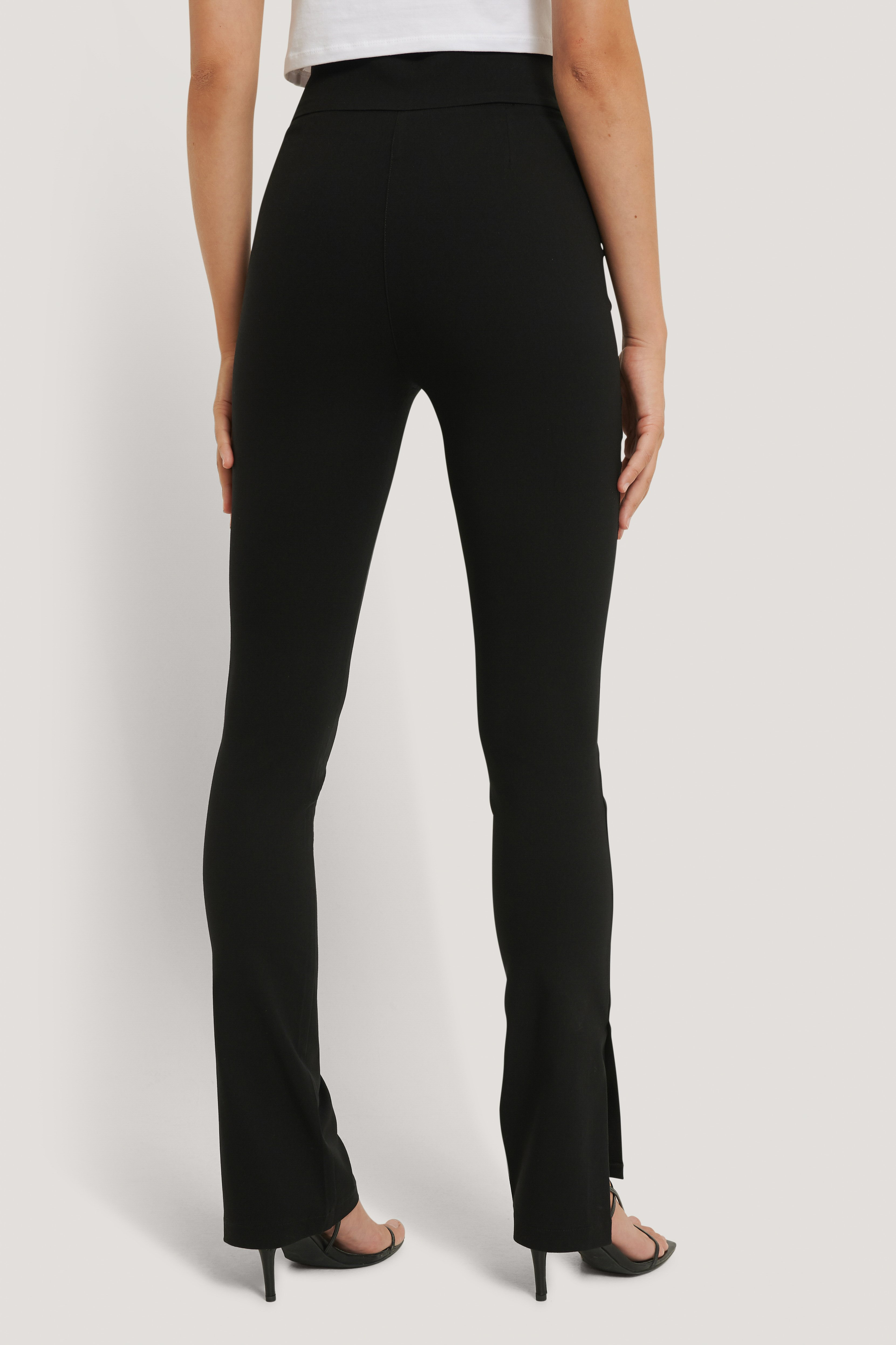 Black Superstretchbyxor I Slim Fit