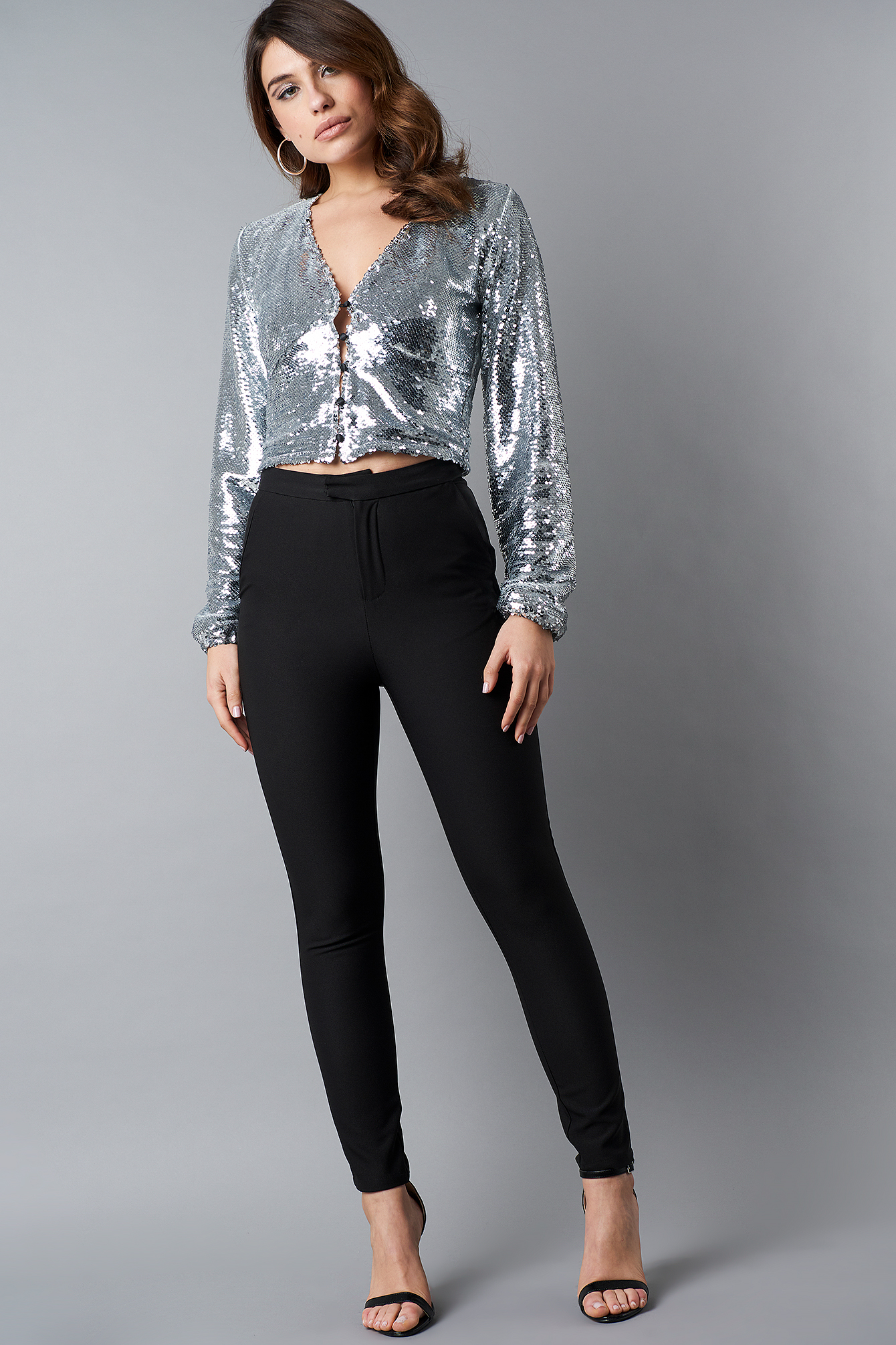 Slim Leg Suit Pants NA-KD.COM