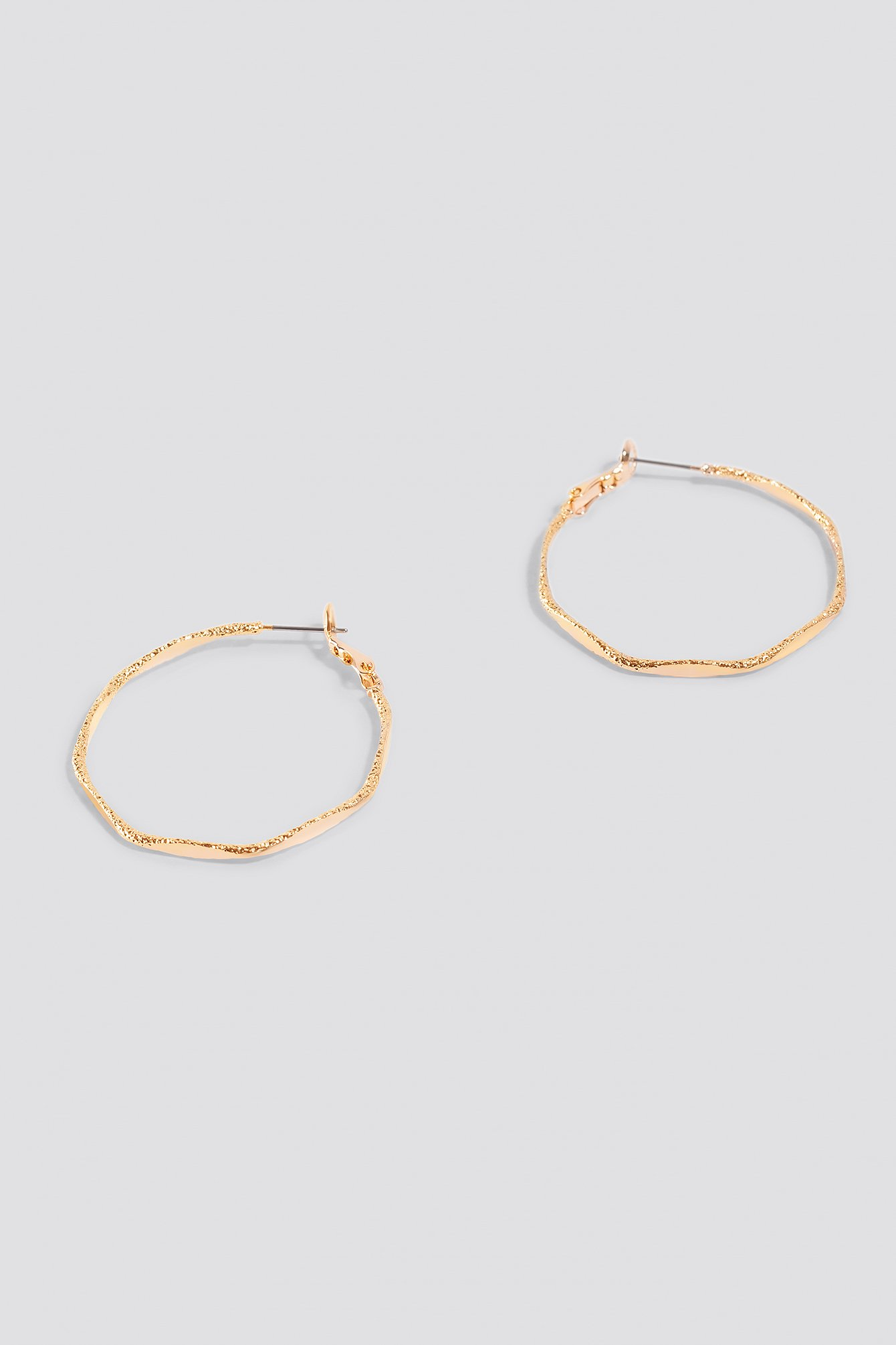 Slim Structured Hoops NA-KD.COM