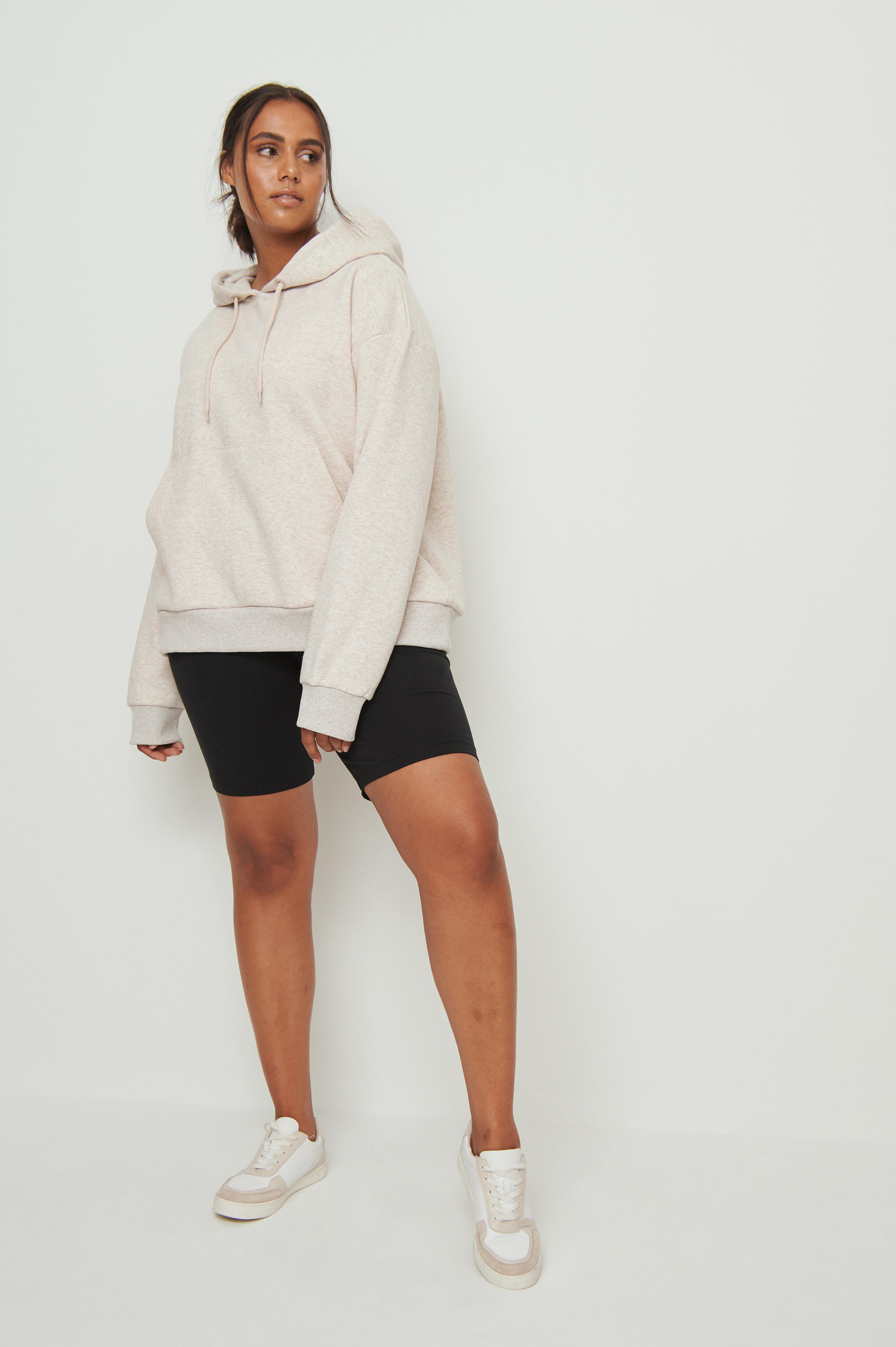 na-kd basic -  Slim Short Tights - Black