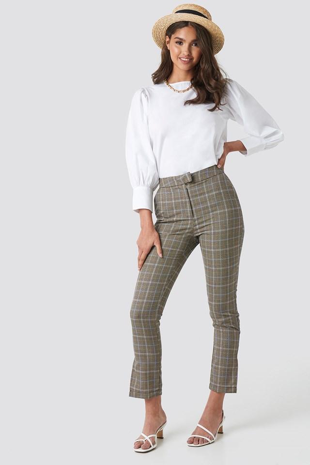 Slit Detail Suit Pants NA-KD Classic