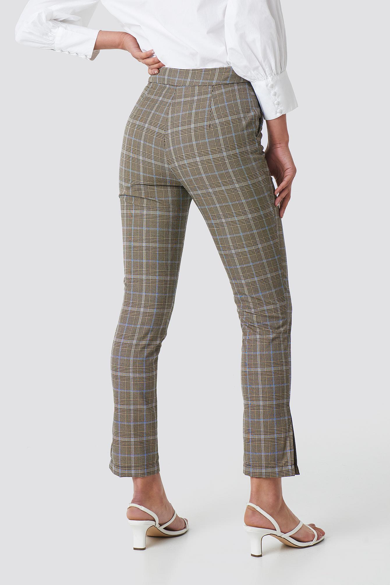 Slit Detail Suit Pants NA-KD.COM