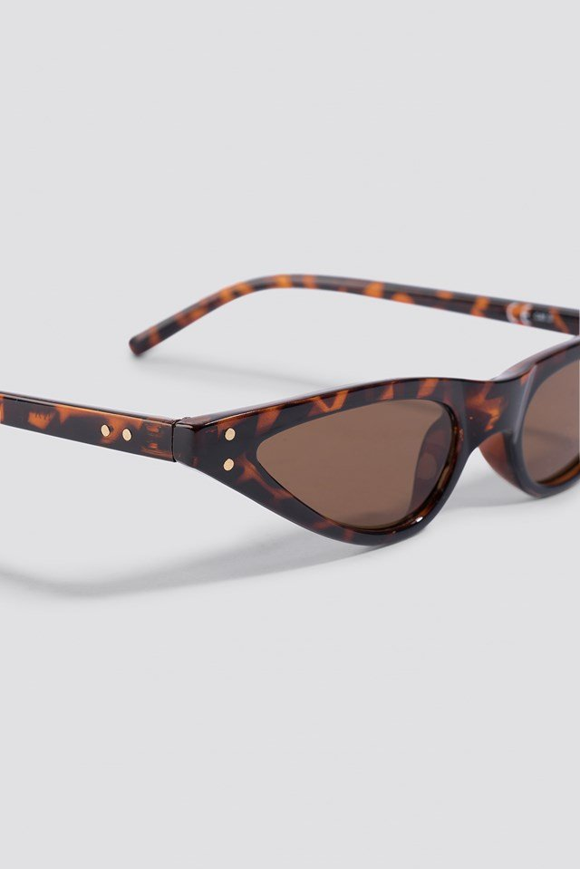 Small Cat Eye Sunglasses Tortoise