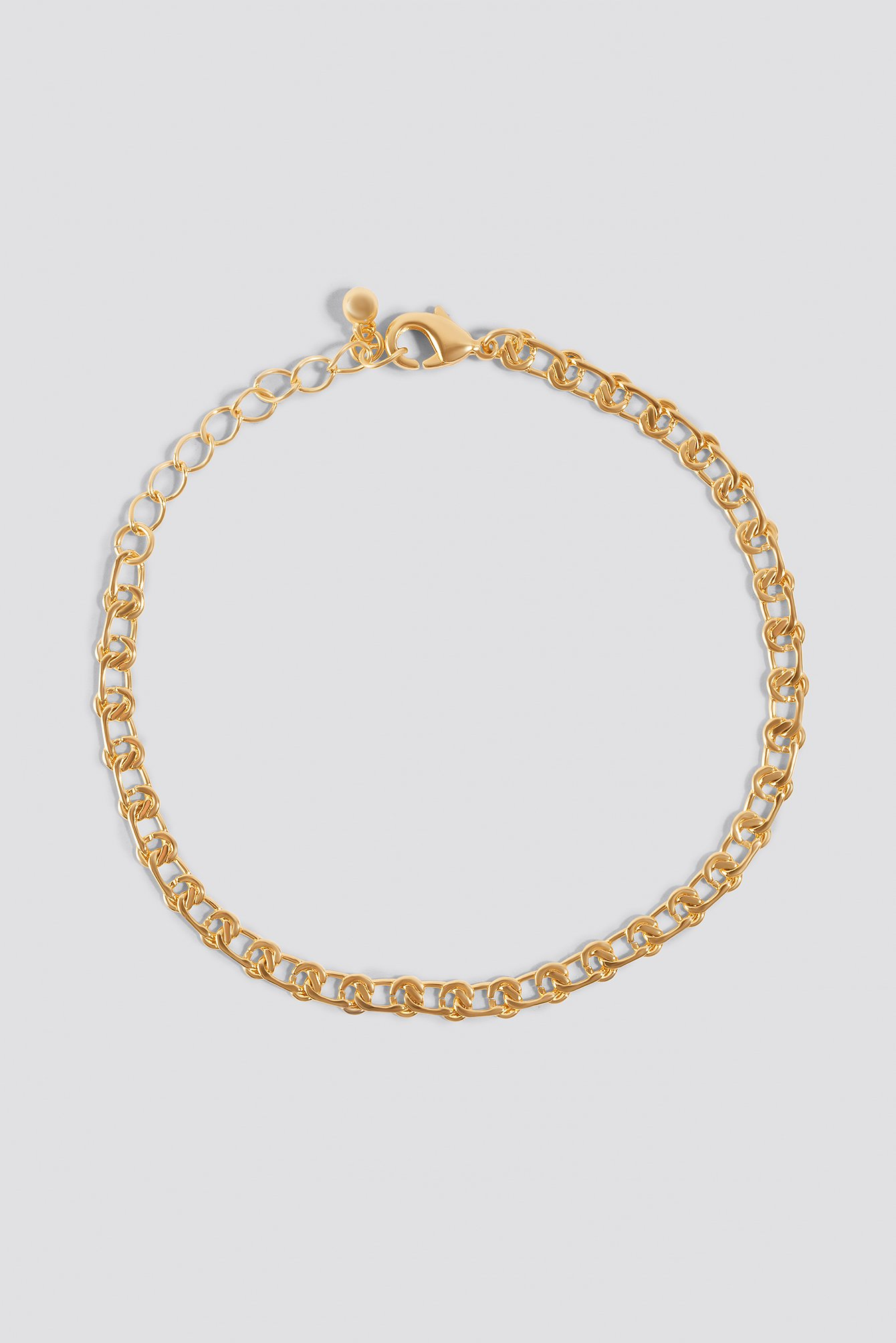 Small Curb Chain Bracelet Gold Na Kd Com