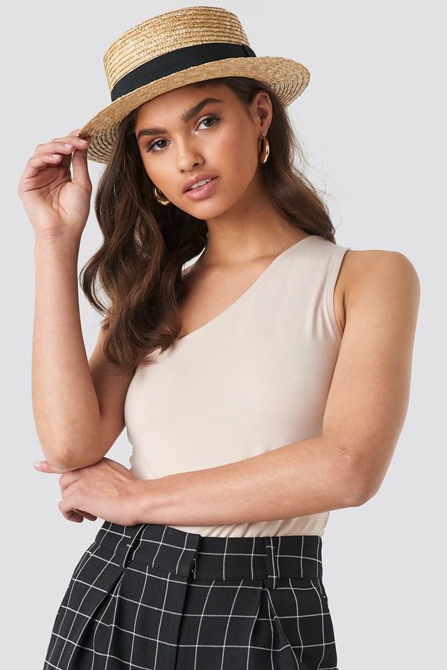 Small Round Straw Hat NA-KD.COM