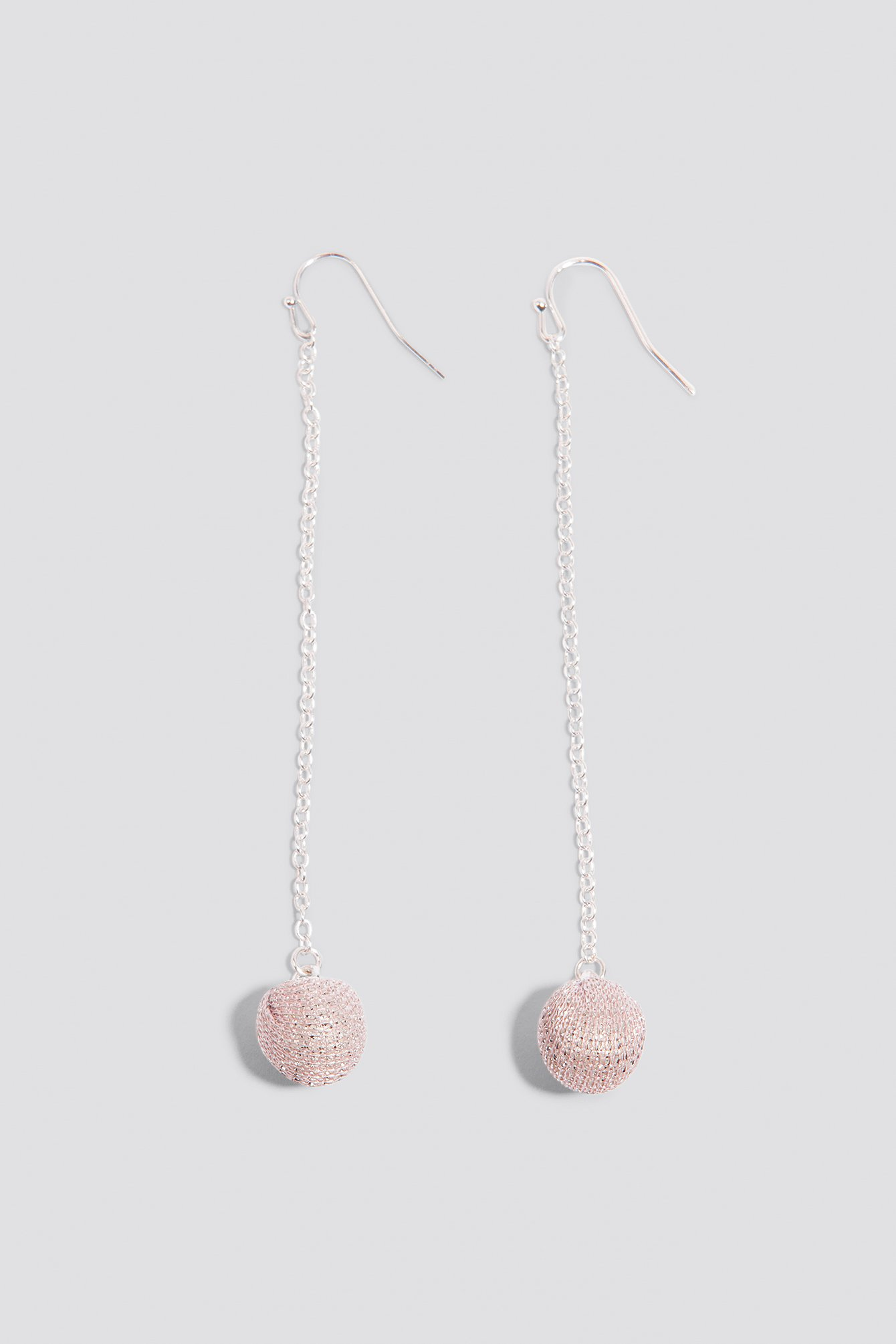 Small Sparkling Globe Drop Earrings NA-KD.COM